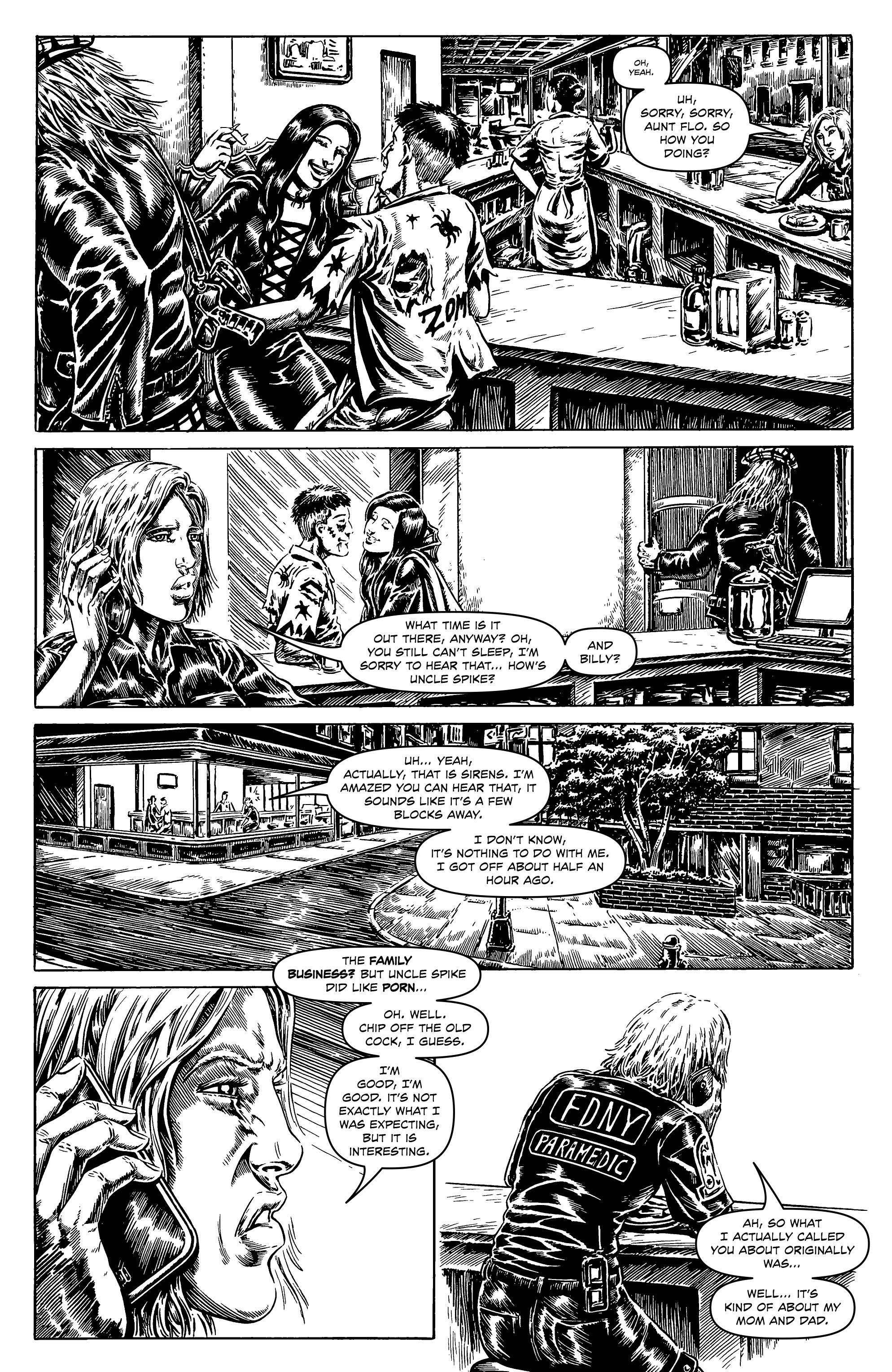 Read online Alan Moore's Cinema Purgatorio comic -  Issue #6 - 17