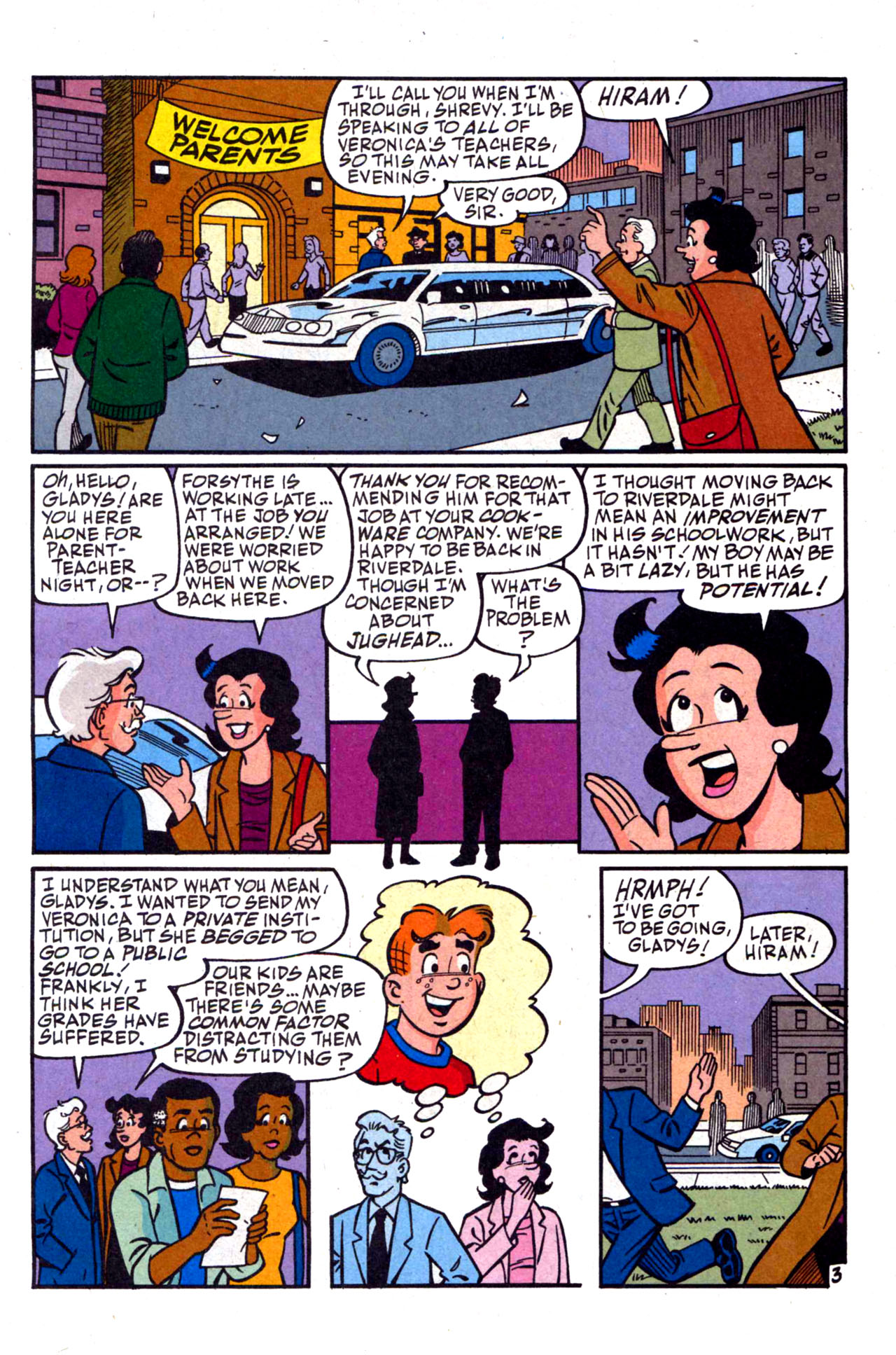 Read online Archie (1960) comic -  Issue #590 - 5