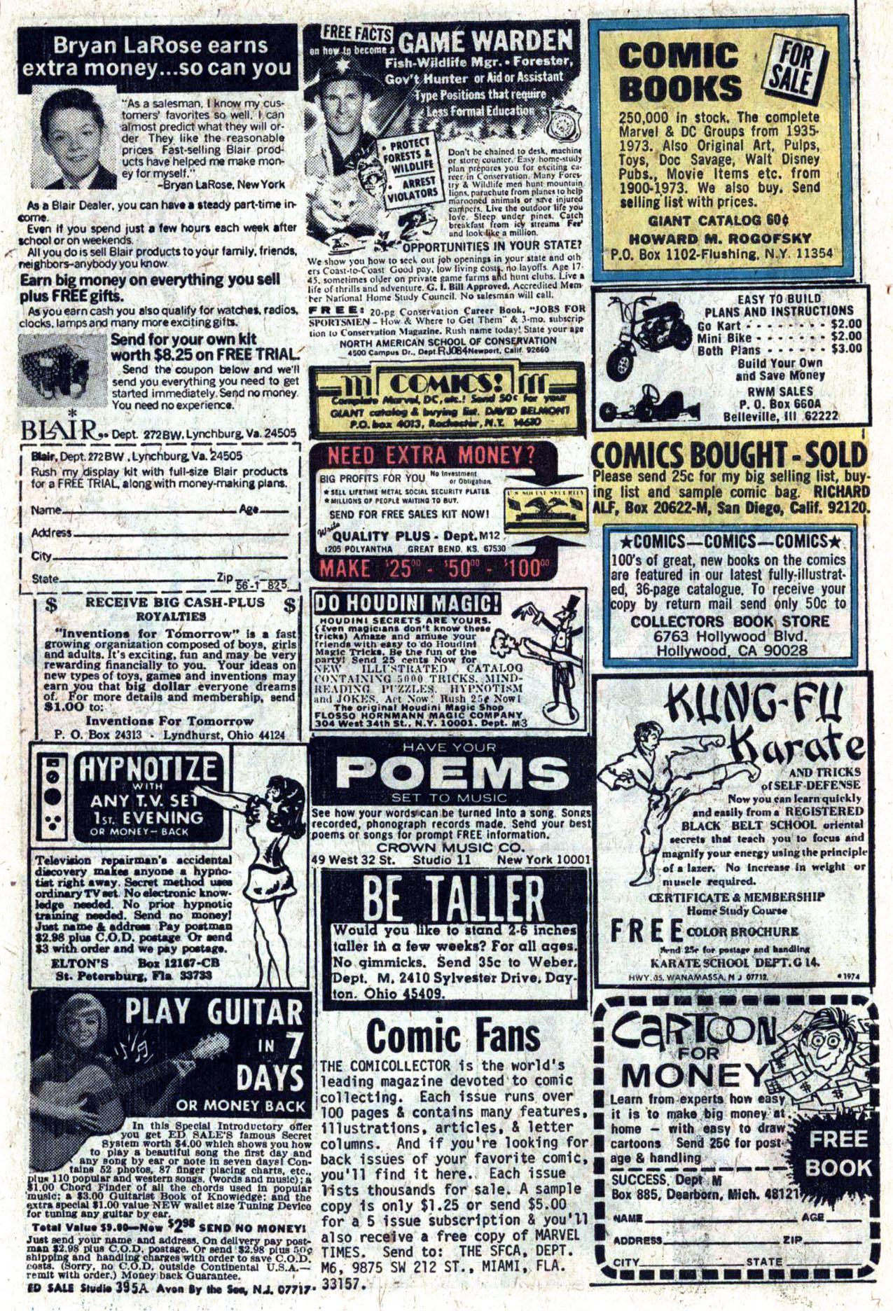 Read online Amazing Adventures (1970) comic -  Issue #27 - 9