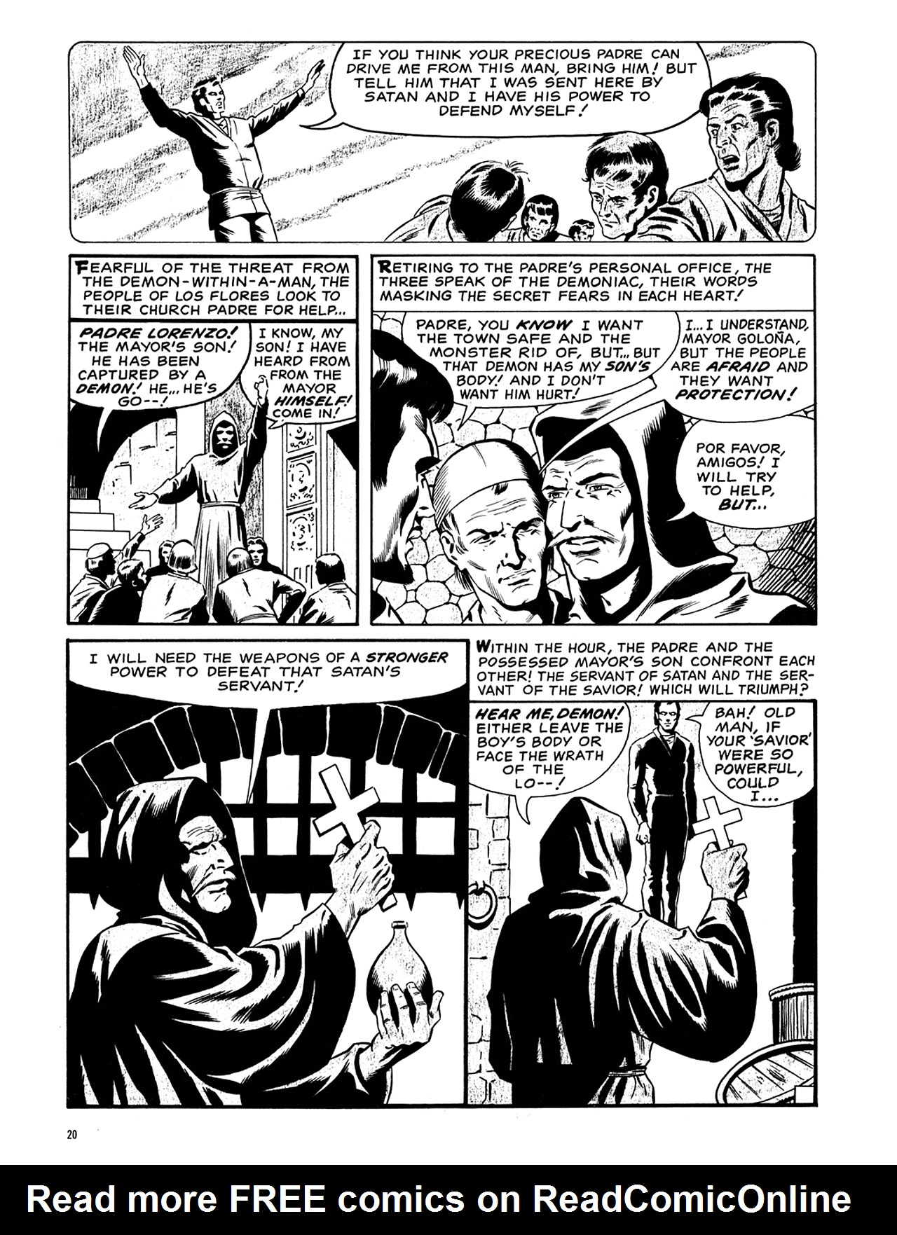 Read online Eerie Archives comic -  Issue # TPB 6 - 21