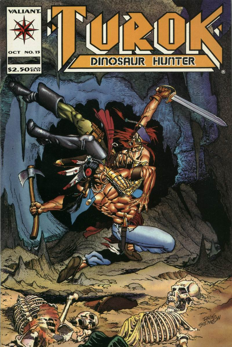 Read online Turok, Dinosaur Hunter (1993) comic -  Issue #15 - 1