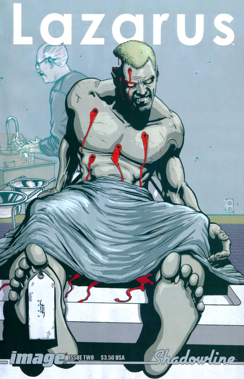 Read online Lazarus (2007) comic -  Issue #2 - 1