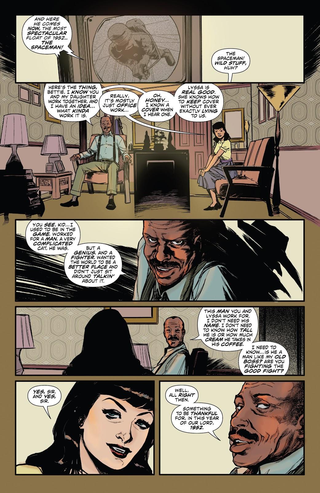 Read online Bettie Page: Unbound comic -  Issue #6 - 13