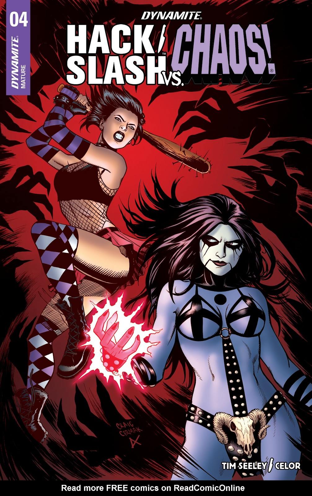 Read online Hack/Slash vs. Chaos comic -  Issue #4 - 2