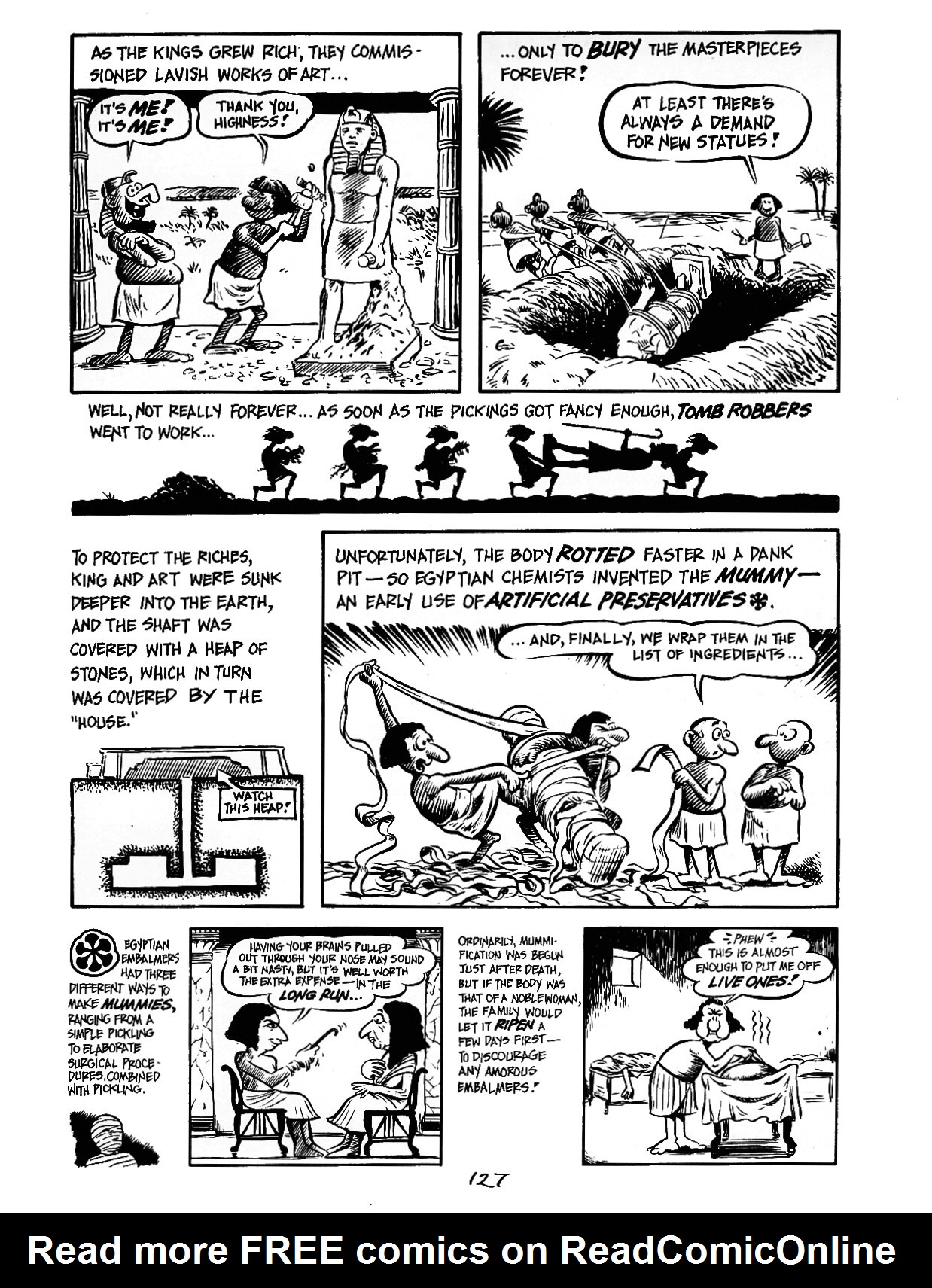 Read online The Cartoon History of the Universe comic -  Issue #3 - 27