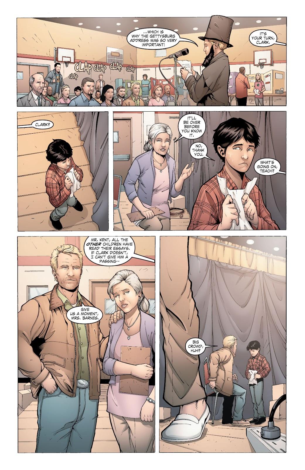 Read online Smallville Season 11 [II] comic -  Issue # TPB 6 - 49