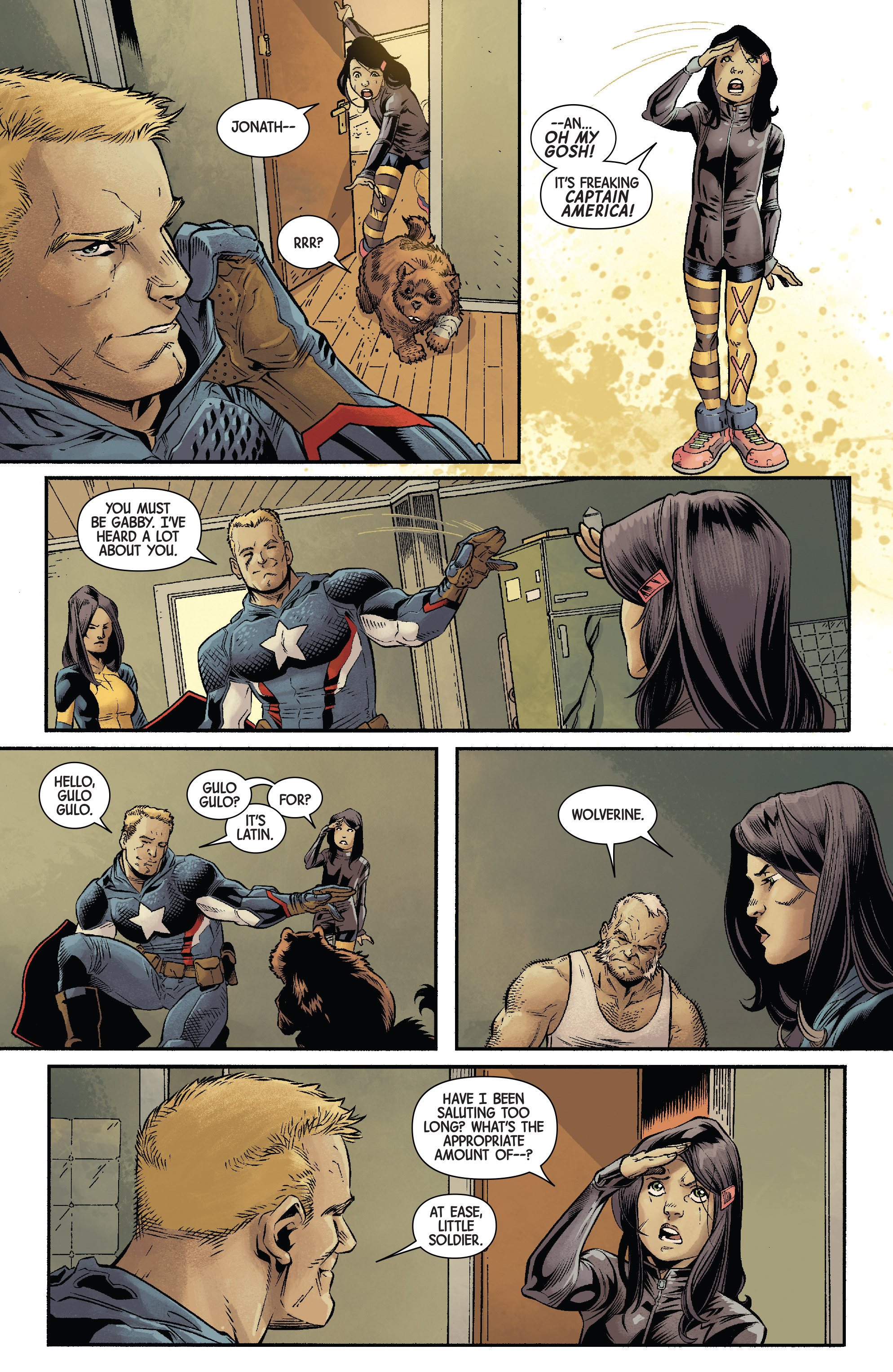 Read online All-New Wolverine (2016) comic -  Issue #11 - 5