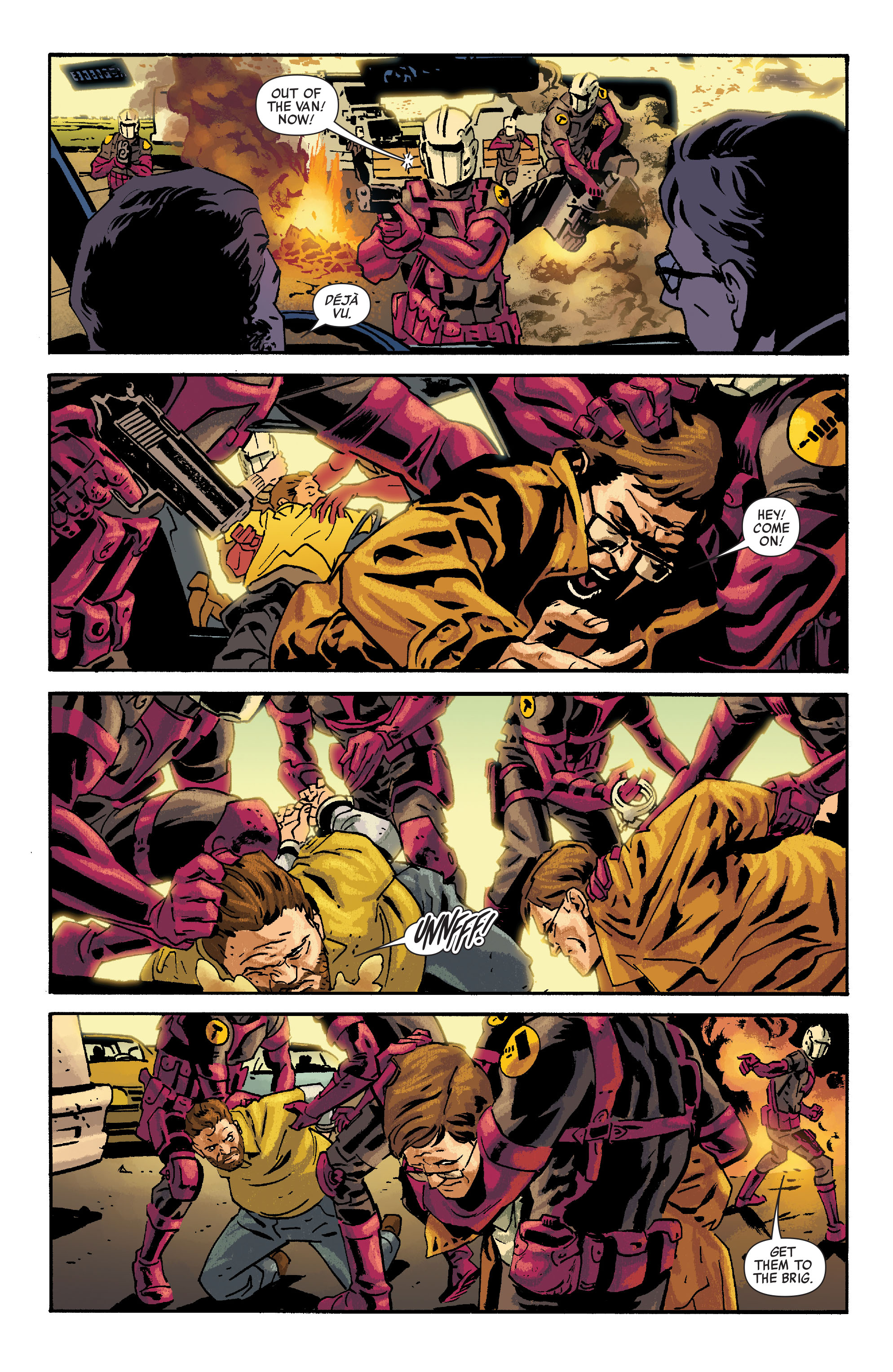 Read online Siege: Embedded comic -  Issue #2 - 21
