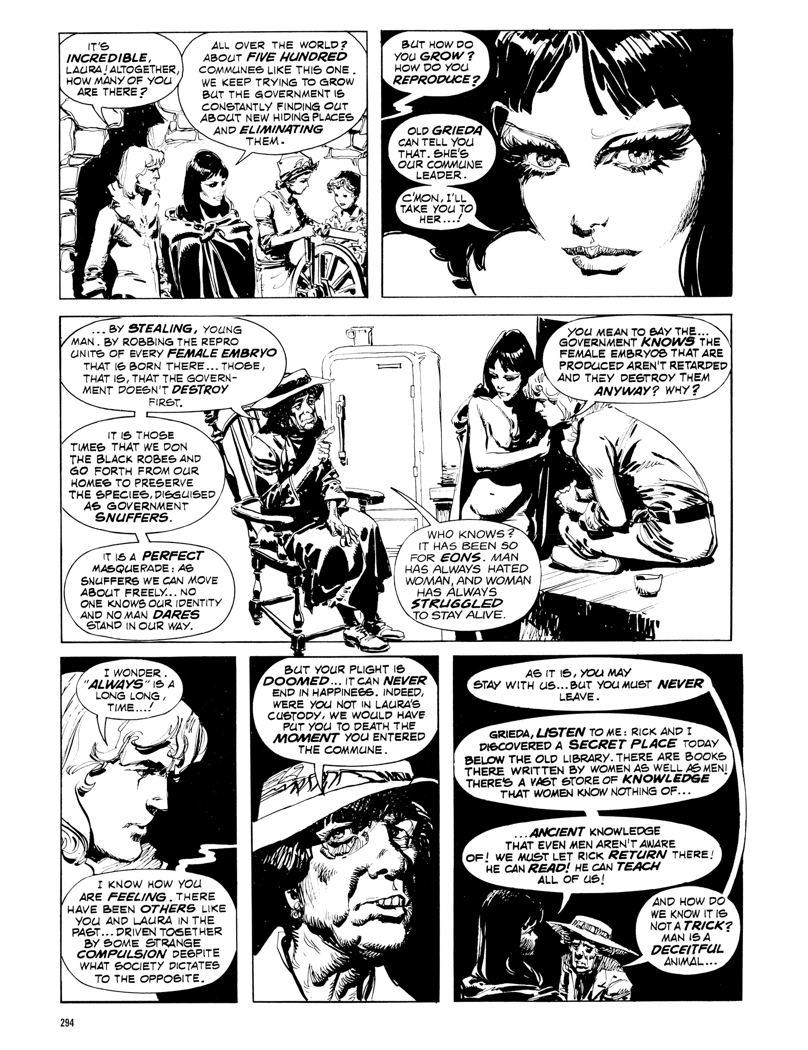 Read online Eerie Archives comic -  Issue # TPB 16 - 295