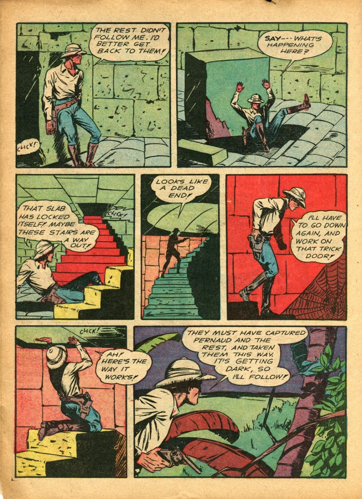 Read online Super-Magician Comics comic -  Issue #5 - 18