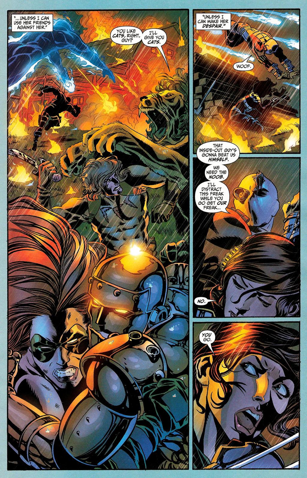 Read online Secret Six (2006) comic -  Issue #4 - 17