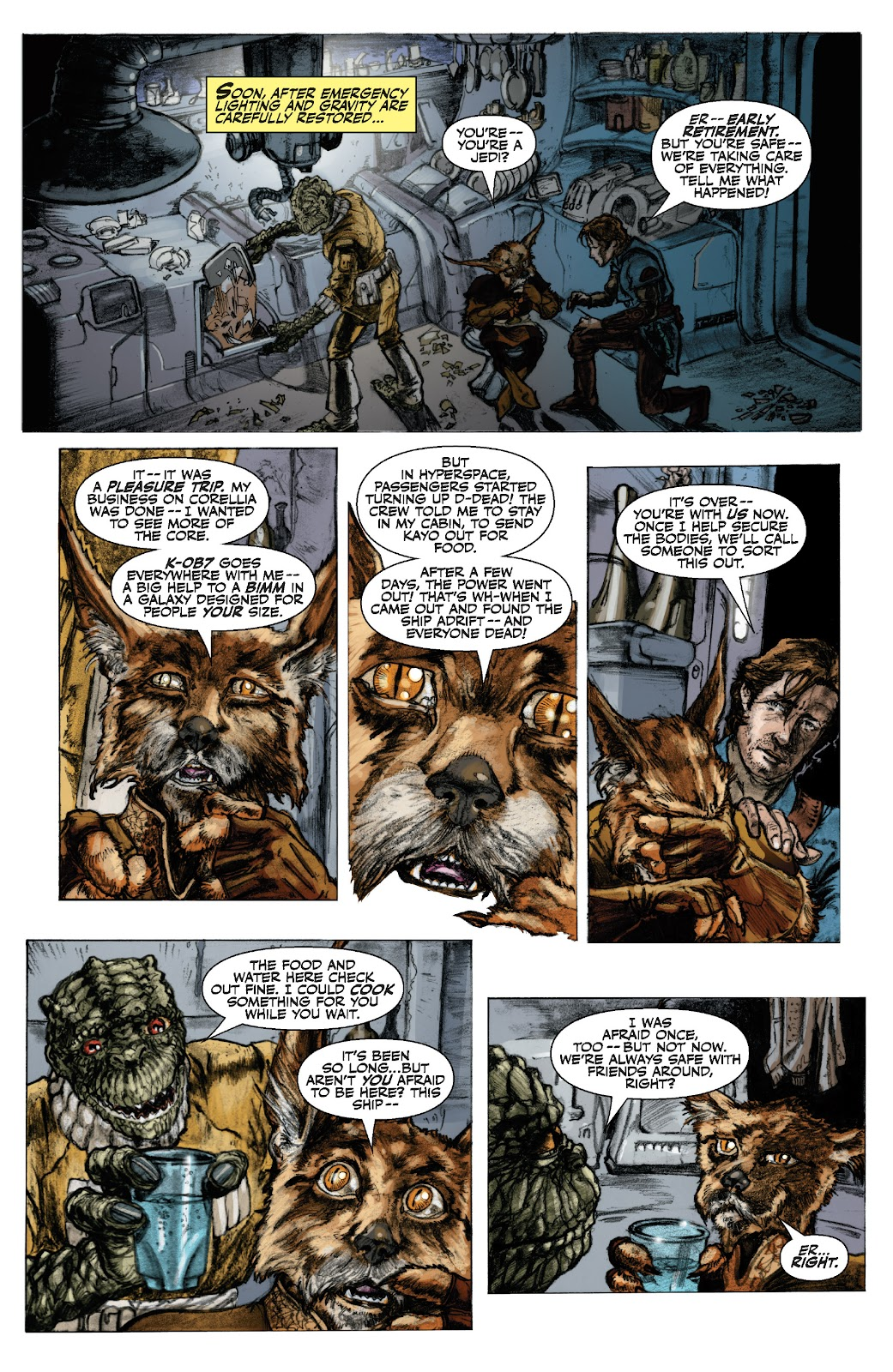 Read online Star Wars Legends: The Old Republic - Epic Collection comic -  Issue # TPB 3 (Part 1) - 14