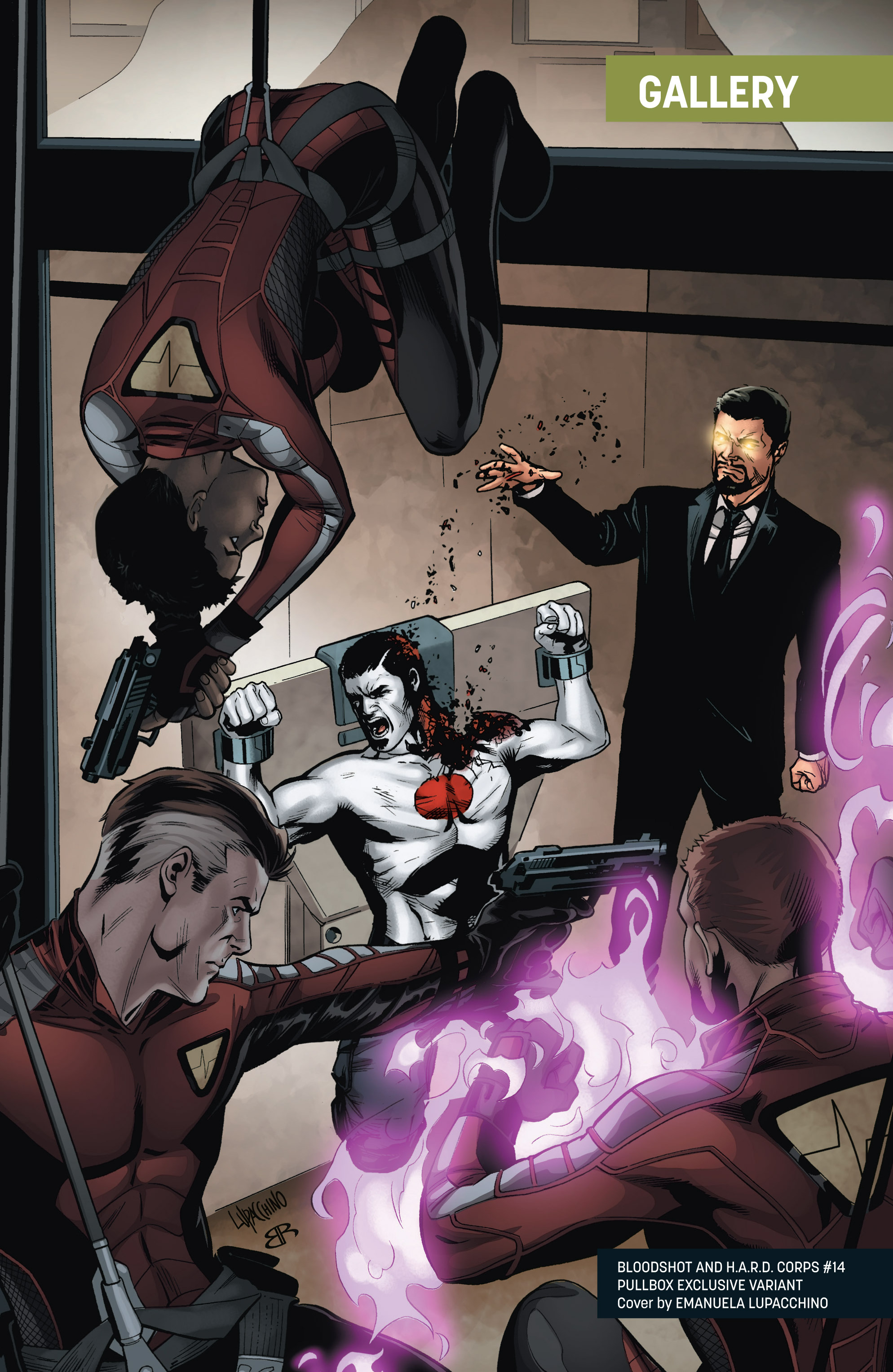 Read online Bloodshot and H.A.R.D.Corps comic -  Issue # TPB 4 - 122