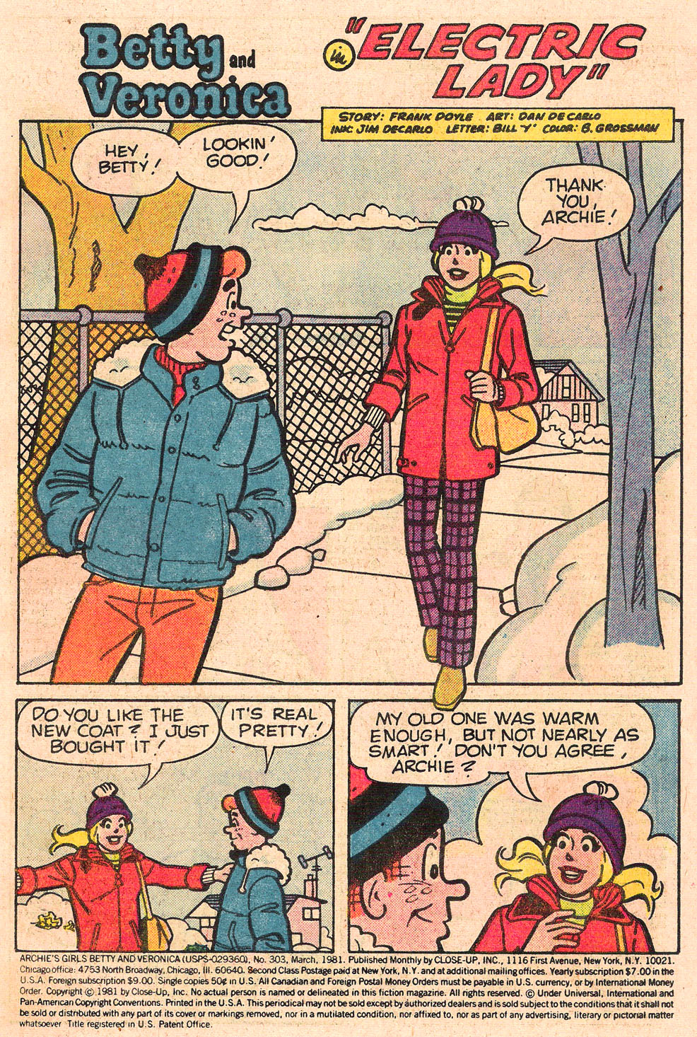 Read online Archie's Girls Betty and Veronica comic -  Issue #303 - 3