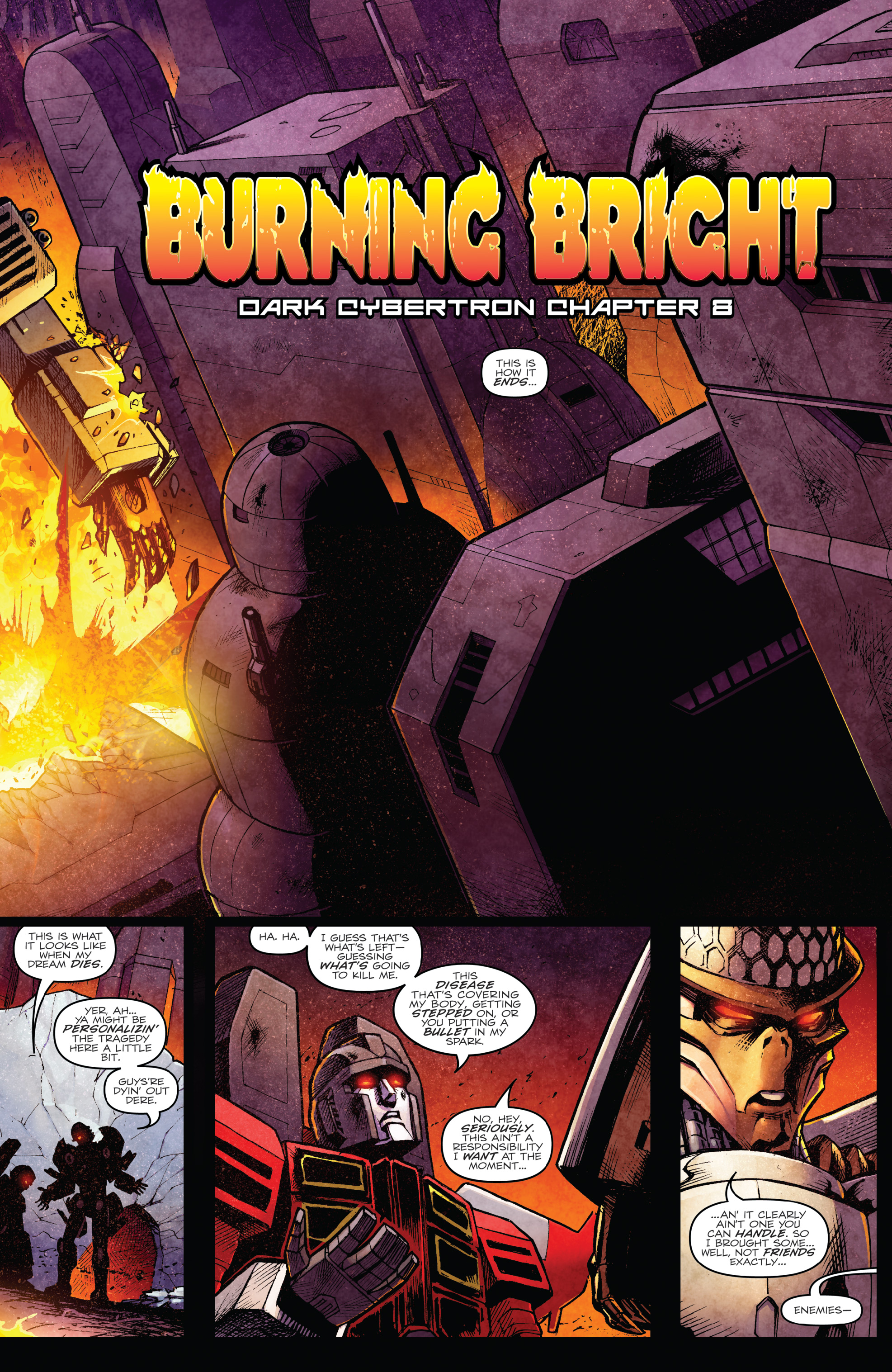 Read online The Transformers: Dark Cybertron Finale comic -  Issue # Full - 32