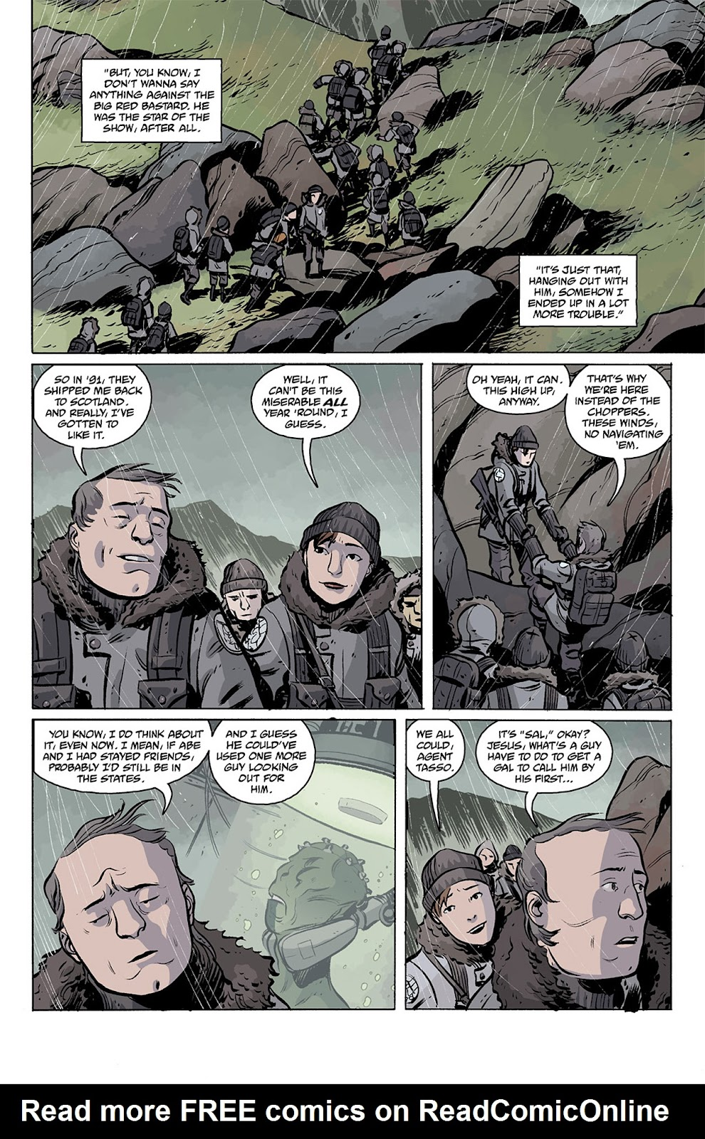 Read online B.P.R.D. Hell on Earth: The Return of the Master comic -  Issue #2 - 3