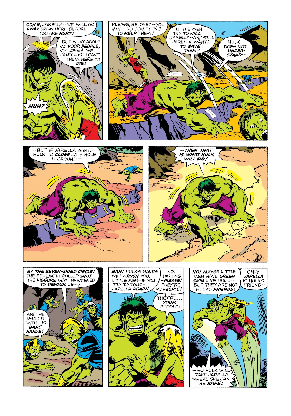 Read online Marvel Masterworks: The Incredible Hulk comic -  Issue # TPB 12 (Part 2) - 46