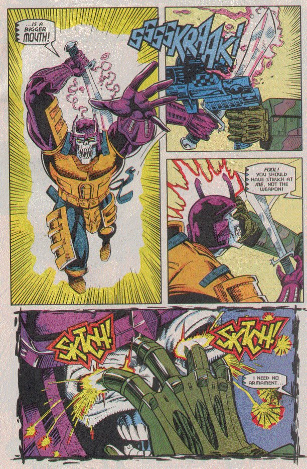Read online Transformers: Generation 2 comic -  Issue #5 - 21