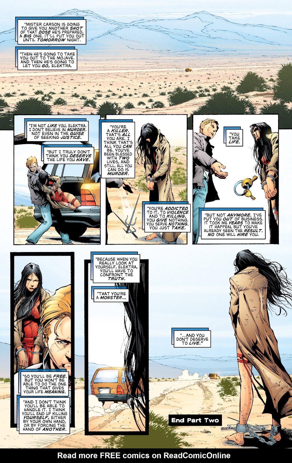 Read online Elektra (2001) comic -  Issue # _TPB Elektra by Greg Rucka Ultimate Collection (Part 2) - 54