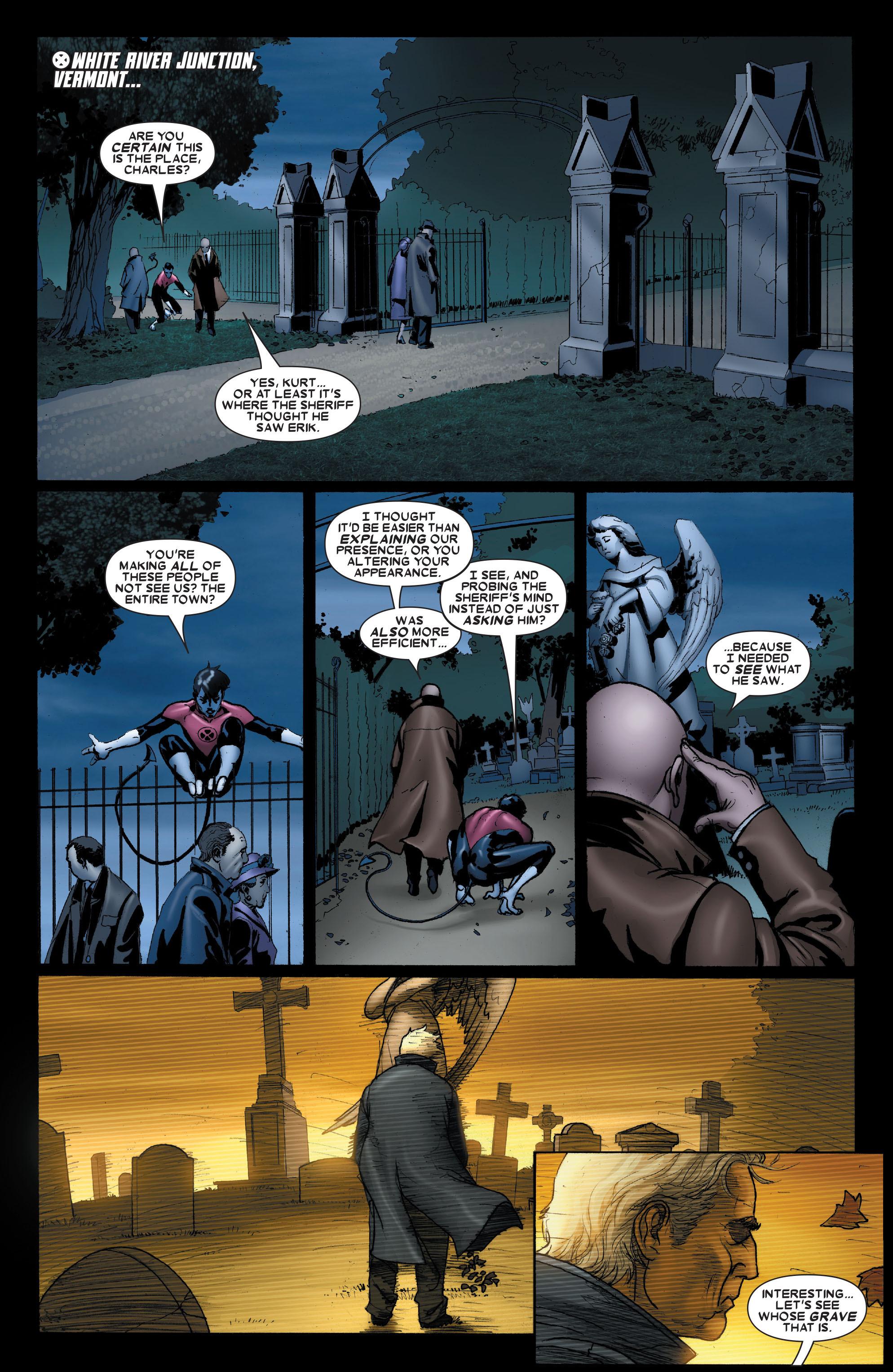 Read online Uncanny X-Men (1963) comic -  Issue #489 - 10