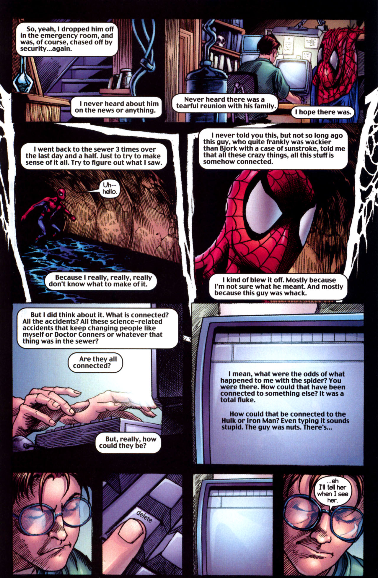 Read online Ultimate Marvel Team-Up comic -  Issue #10 - 31