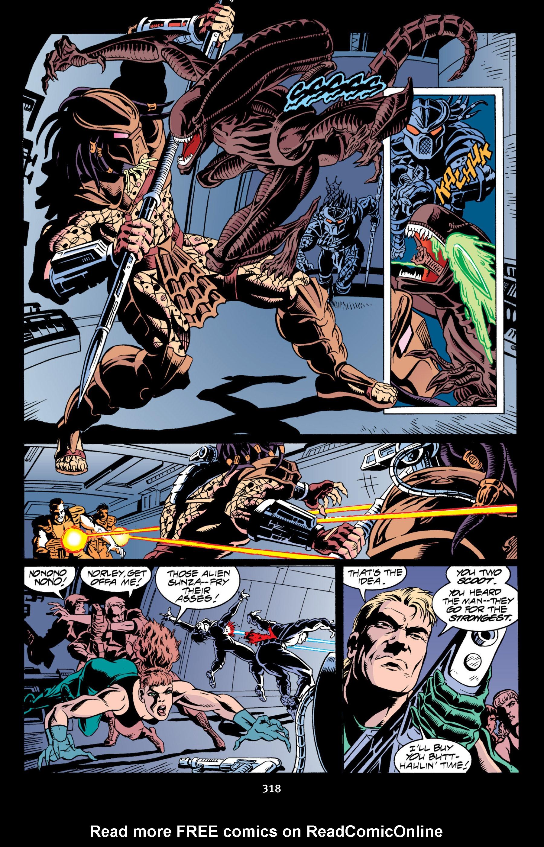 Read online Aliens vs. Predator Omnibus comic -  Issue # _TPB 2 Part 3 - 93