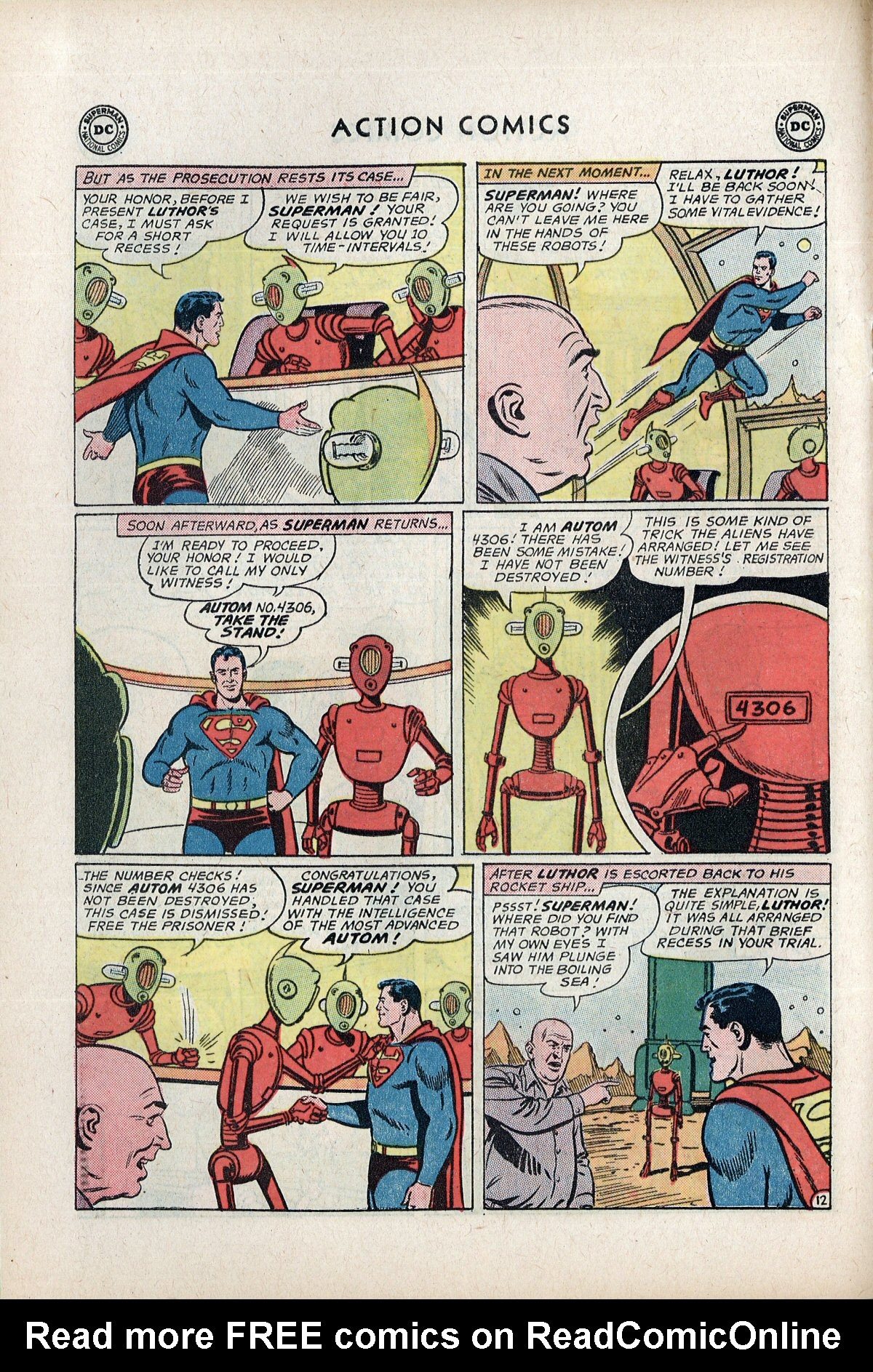 Read online Action Comics (1938) comic -  Issue #292 - 14