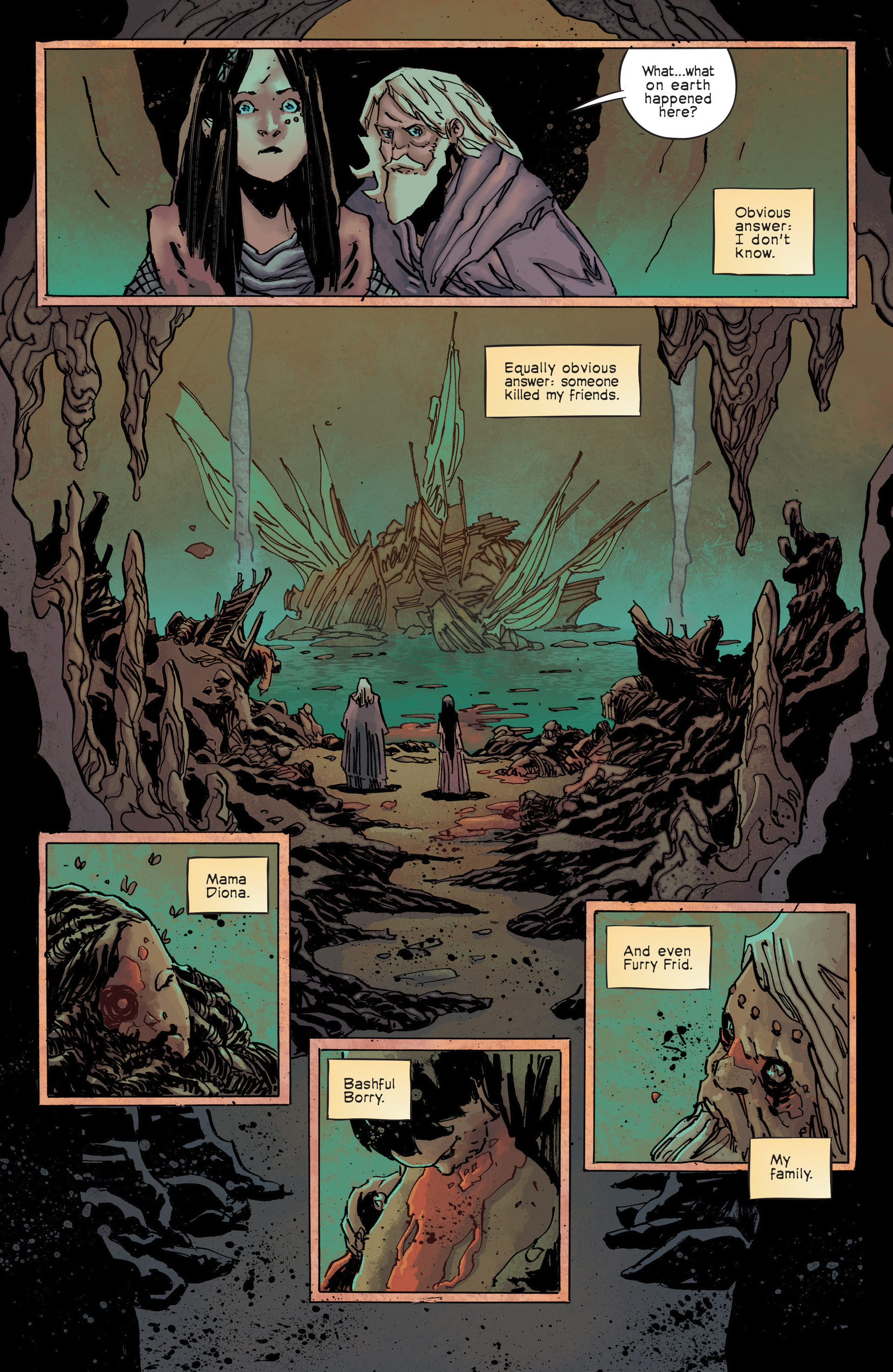 Read online Umbral comic -  Issue #3 - 6