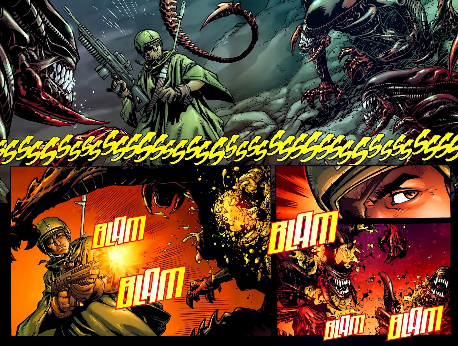 Read online Aliens (2009) comic -  Issue #1 - 5