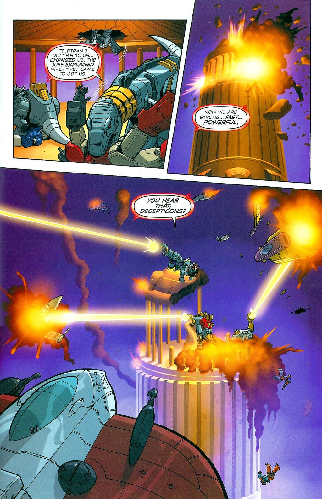 G.I. Joe vs. The Transformers II Issue #4 #5 - English 15