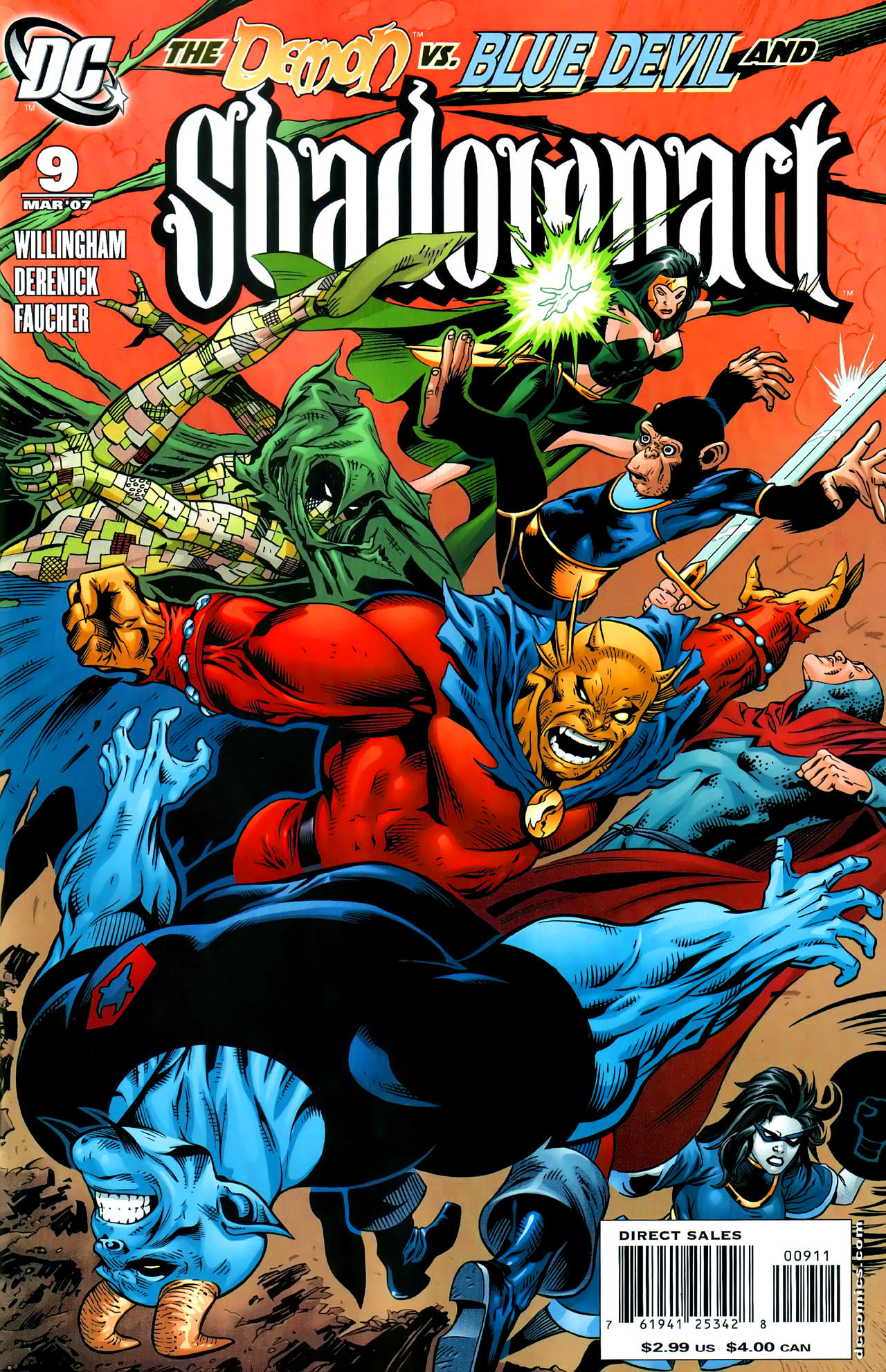 Read online Shadowpact comic -  Issue #9 - 1