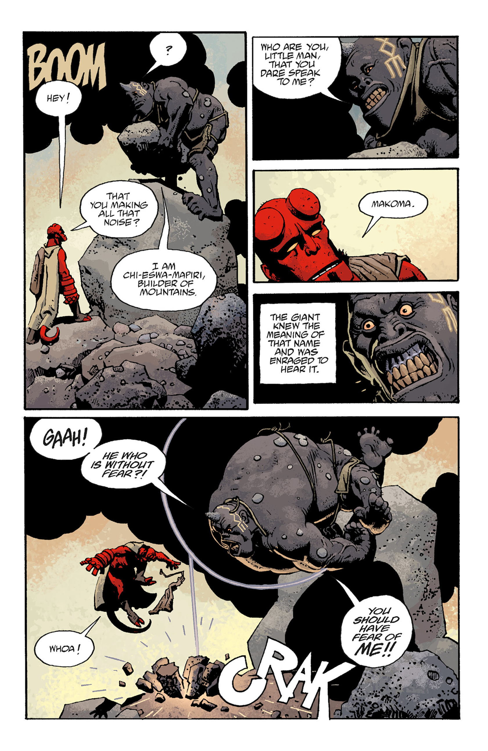 Read online Hellboy: The Troll Witch and Others comic -  Issue # TPB - 95