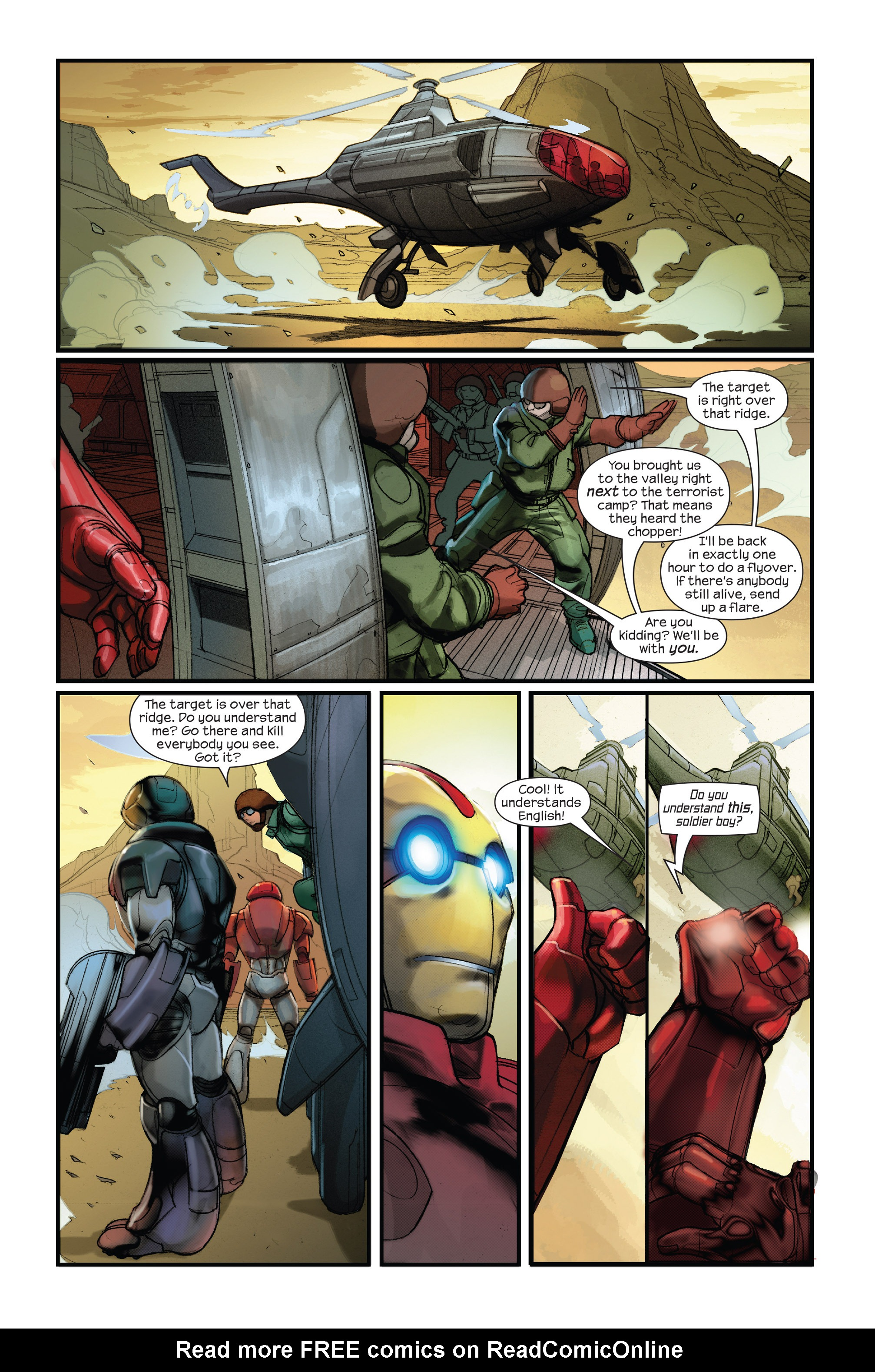 Read online Ultimate Iron Man II comic -  Issue #1 - 21