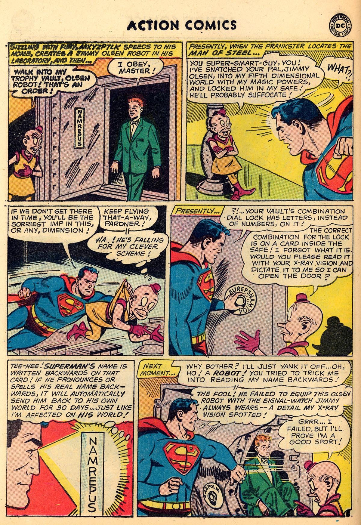 Read online Action Comics (1938) comic -  Issue #273 - 10
