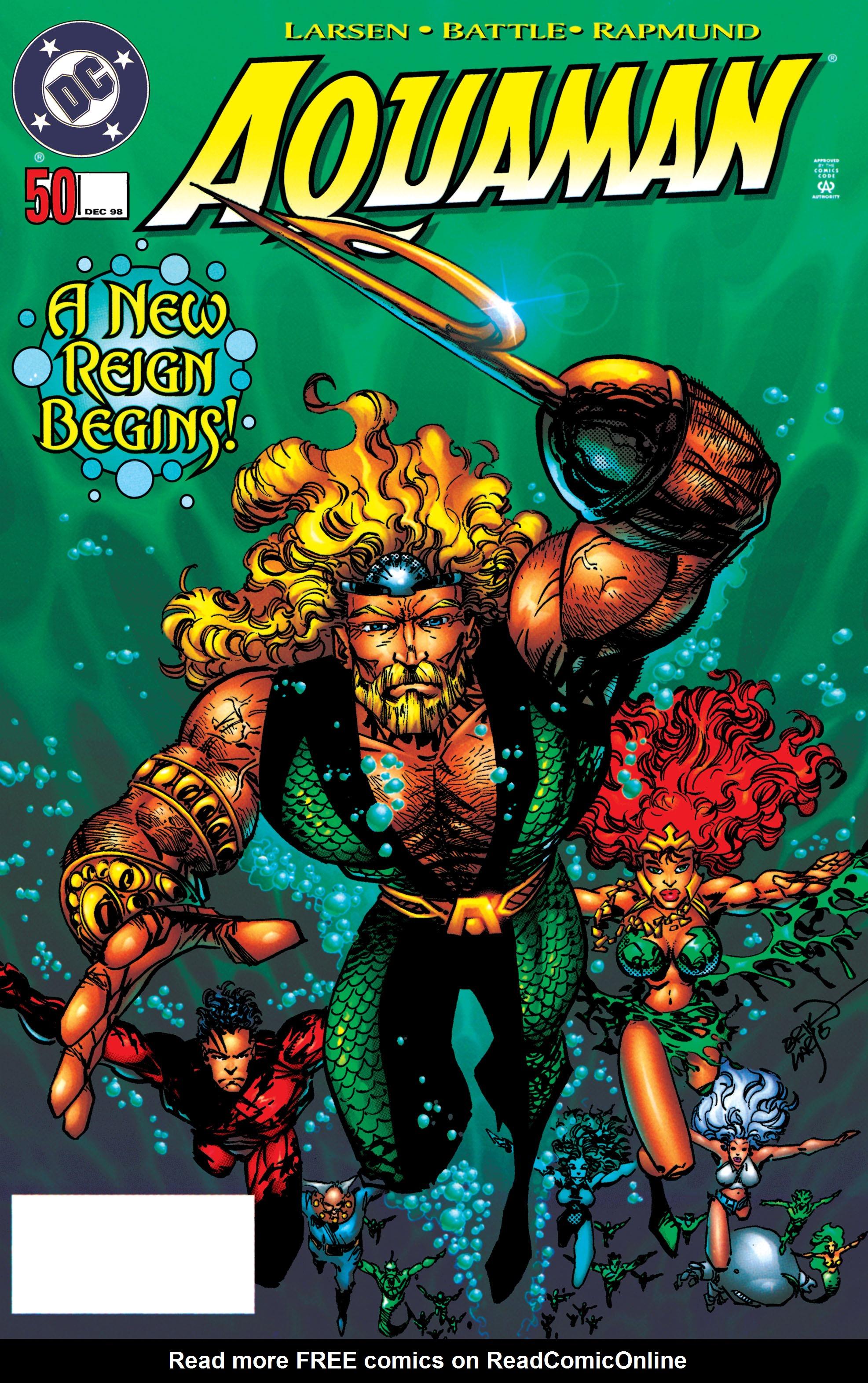 Read online Aquaman (1994) comic -  Issue #50 - 1