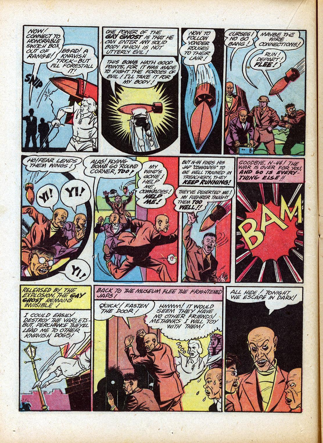 Read online Sensation (Mystery) Comics comic -  Issue #18 - 28