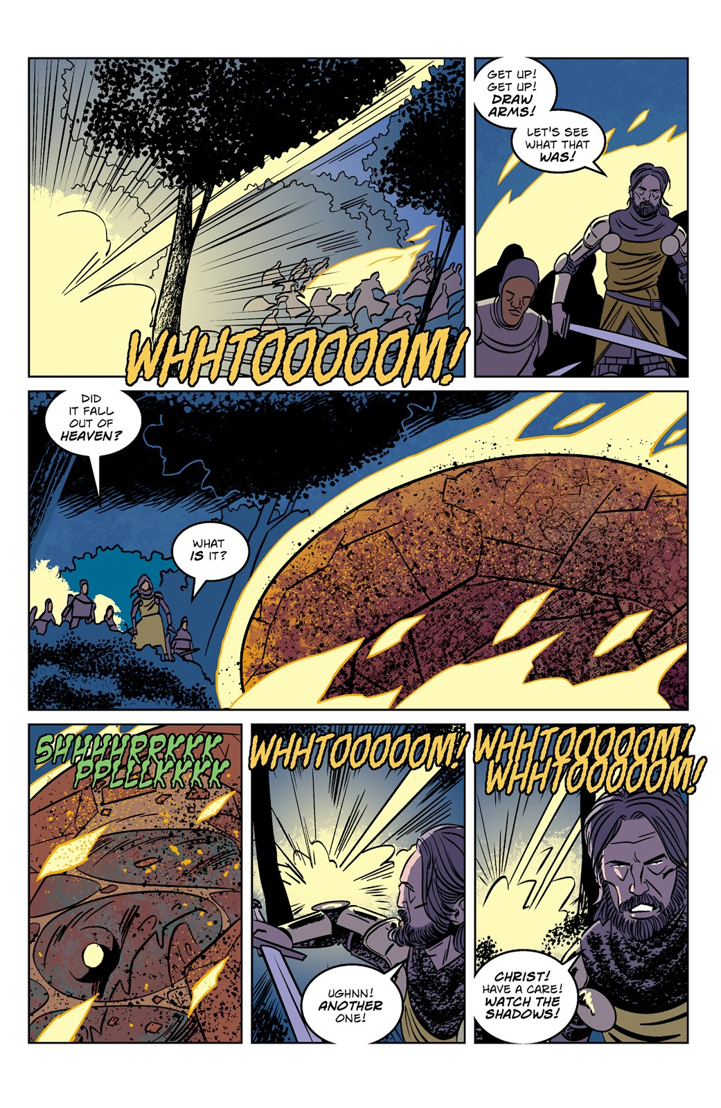 Read online Dark Ages comic -  Issue #1 - 7