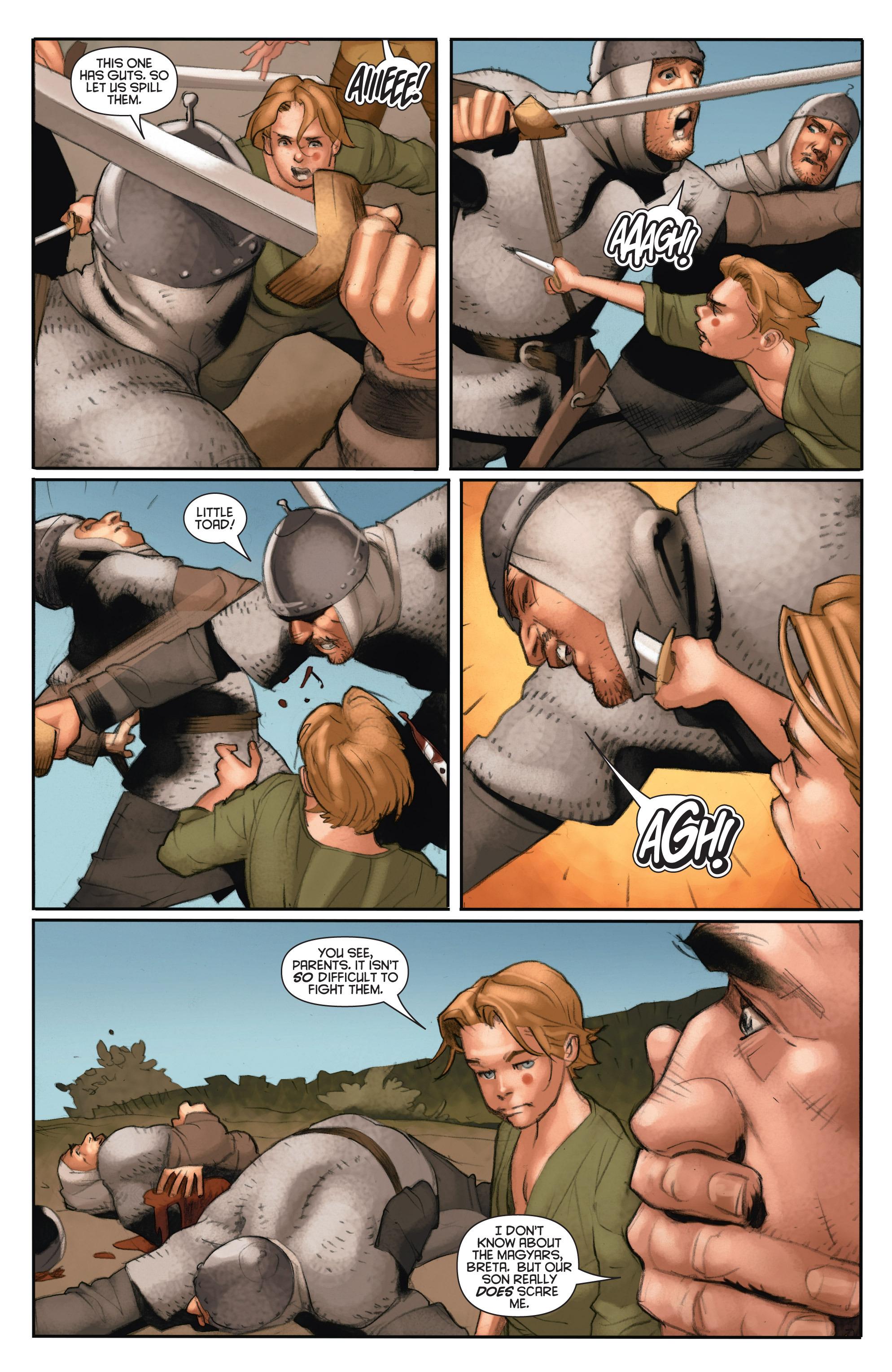Read online Eternal Warrior: Days of Steel comic -  Issue #2 - 16