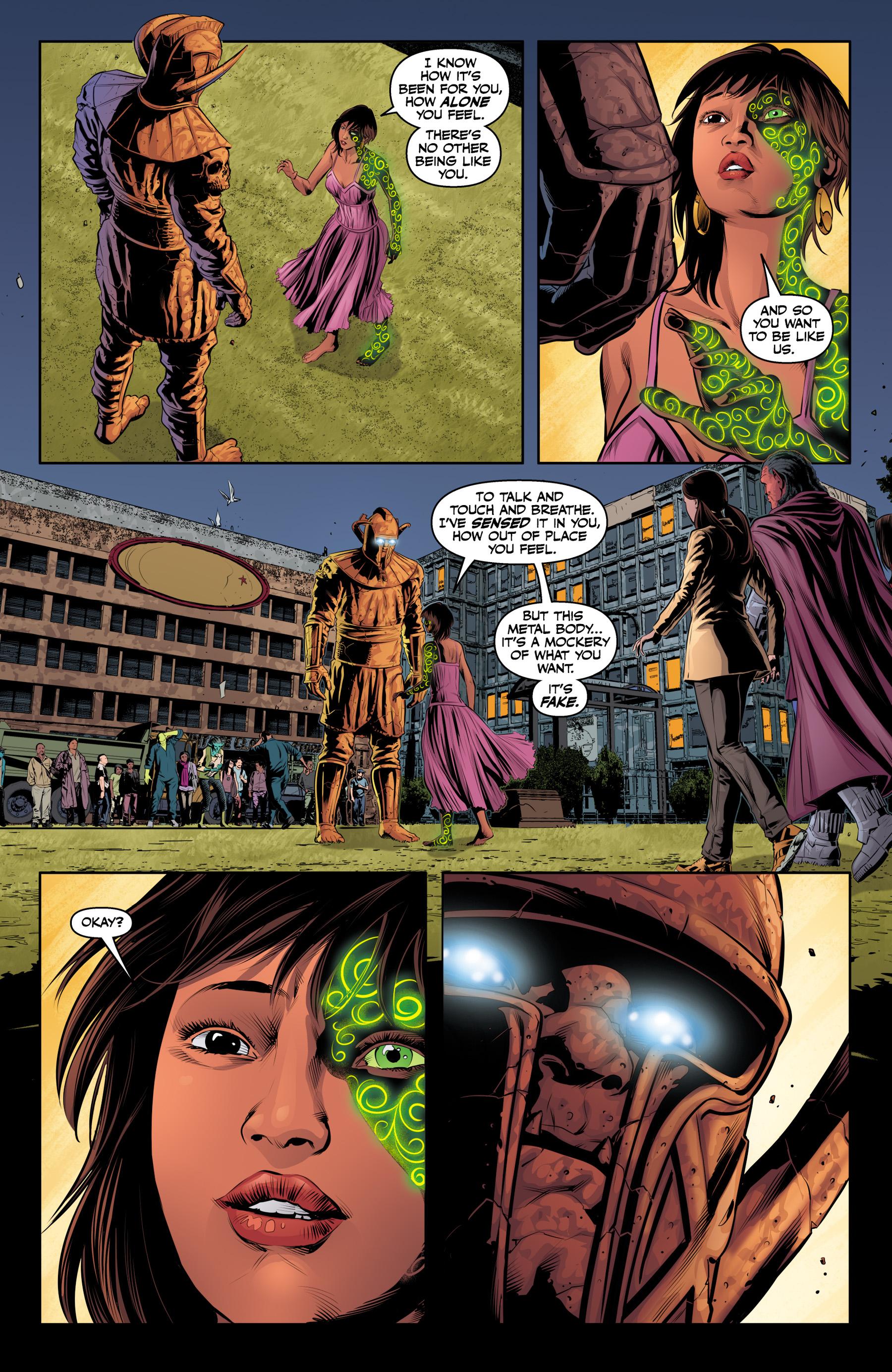 Read online Angel & Faith Season 10 comic -  Issue #23 - 22