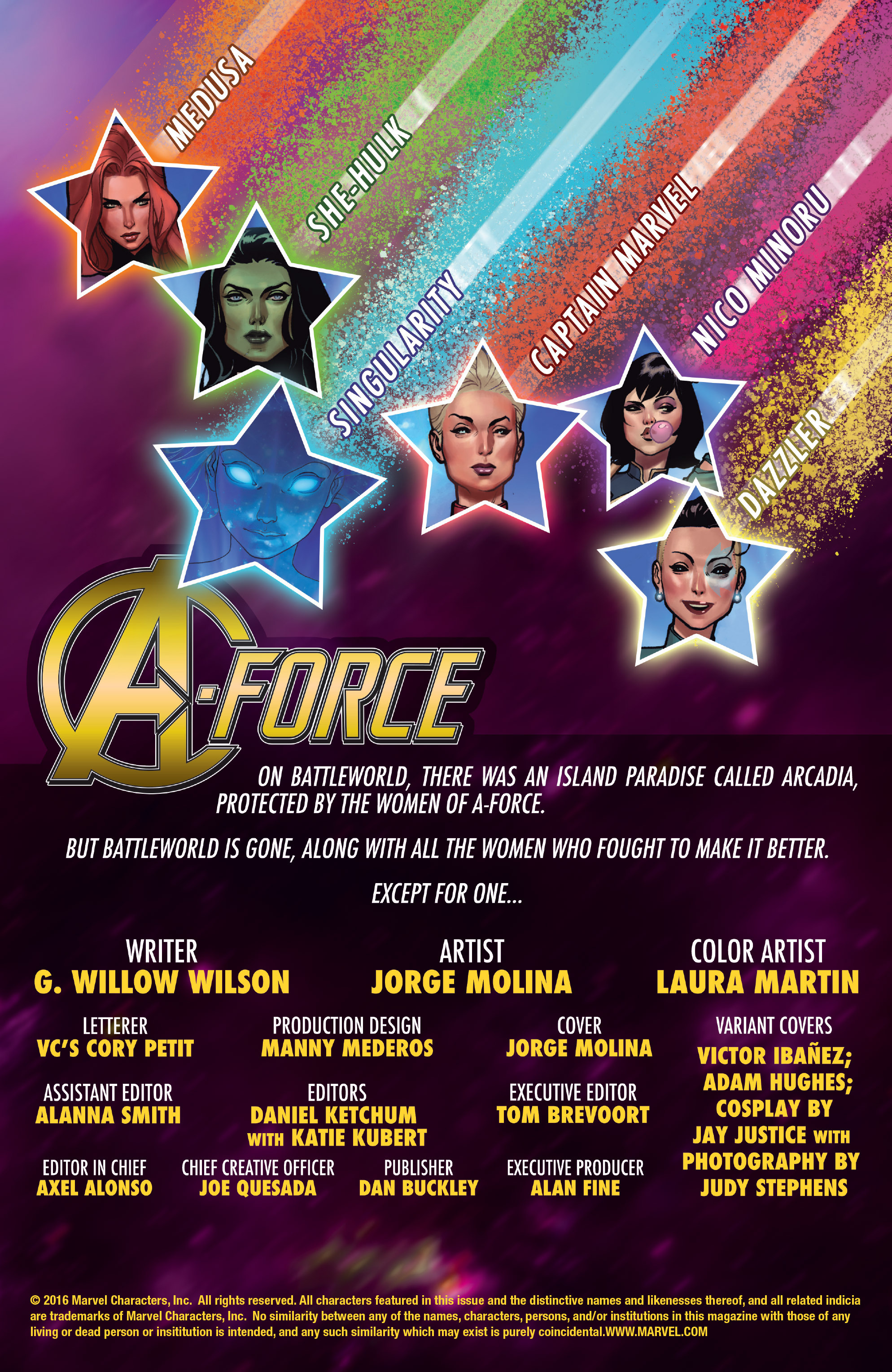 Read online A-Force (2016) comic -  Issue #1 - 2