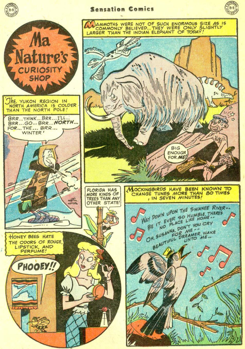 Read online Sensation (Mystery) Comics comic -  Issue #87 - 36