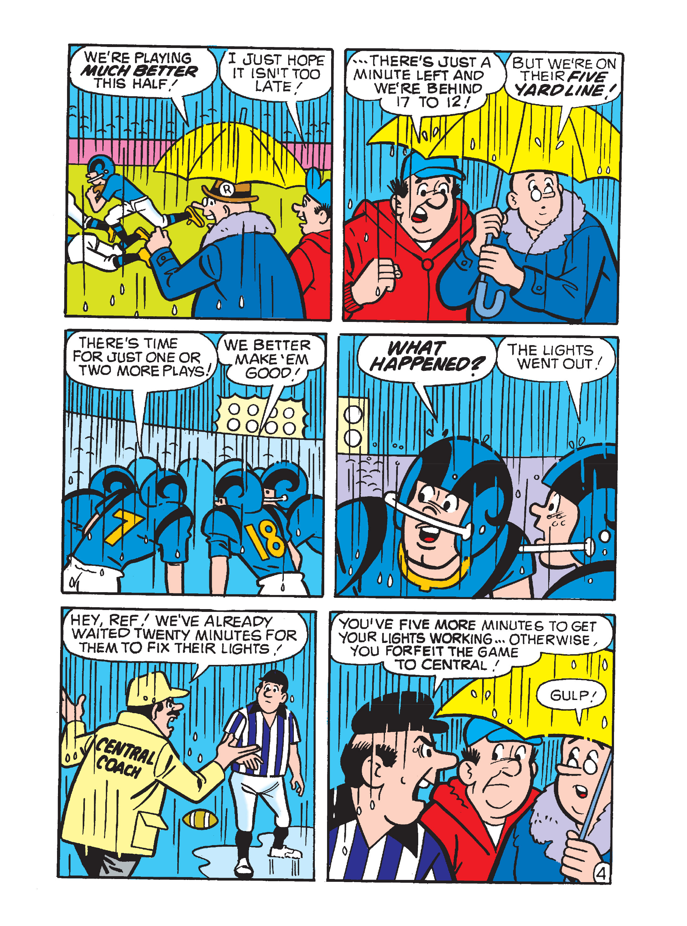 Read online Archie's Funhouse Double Digest comic -  Issue #10 - 119