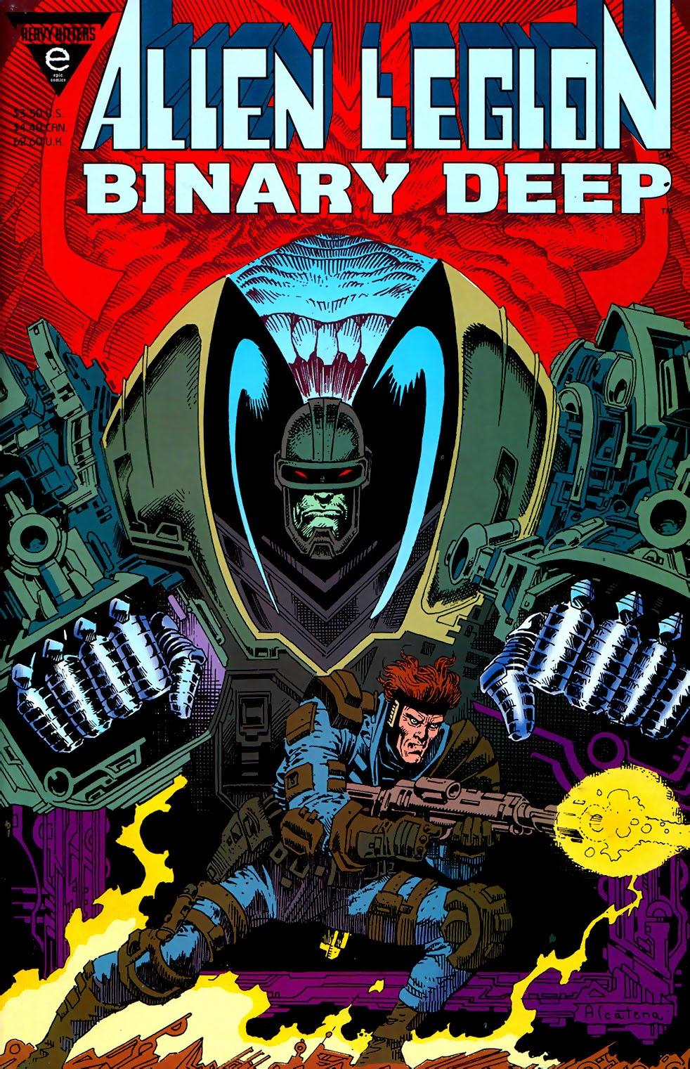 Alien Legion: Binary Deep issue Full - Page 1
