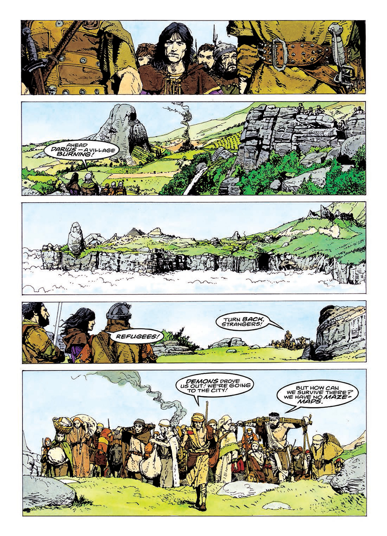 Read online Mazeworld comic -  Issue # TPB - 154