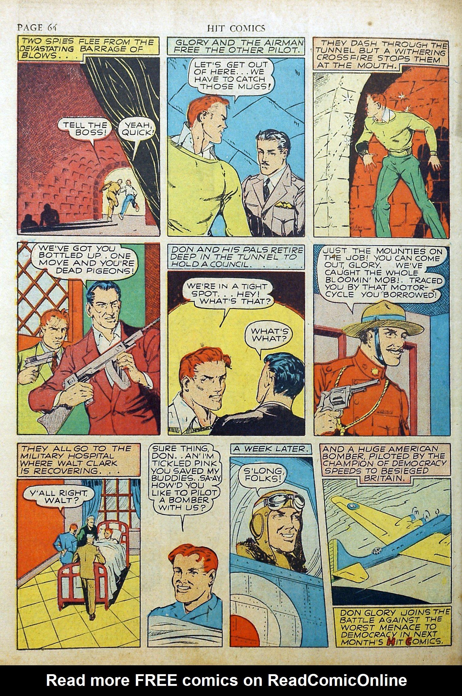 Read online Hit Comics comic -  Issue #17 - 66