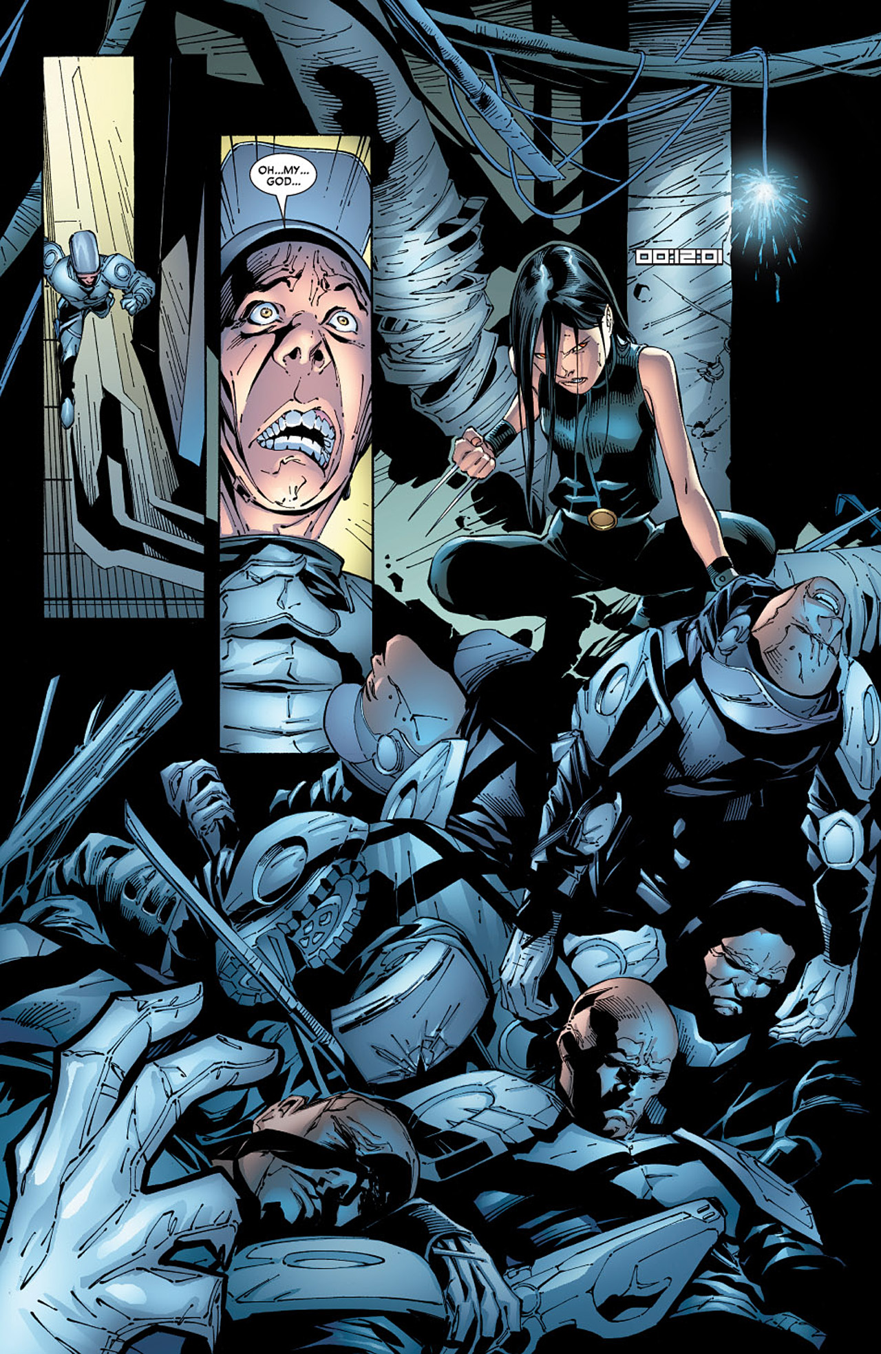 Read online X-23 (2005) comic -  Issue #6 - 10