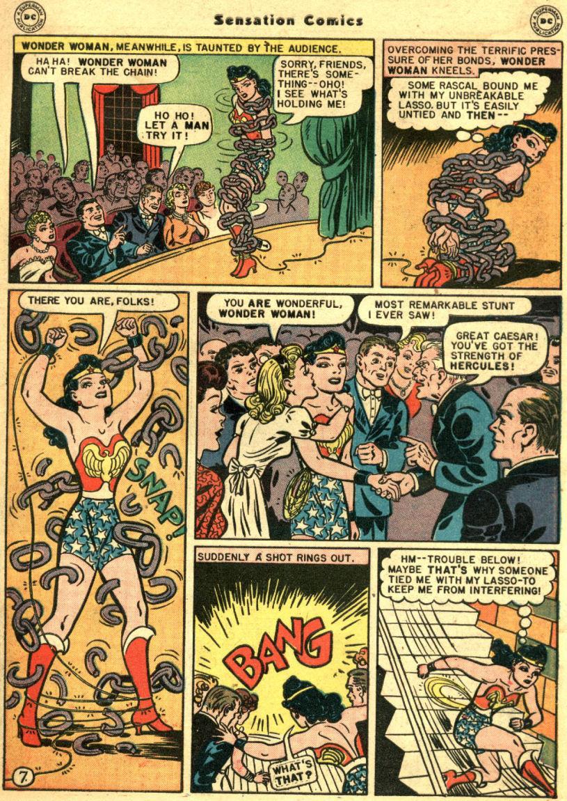 Read online Sensation (Mystery) Comics comic -  Issue #69 - 11