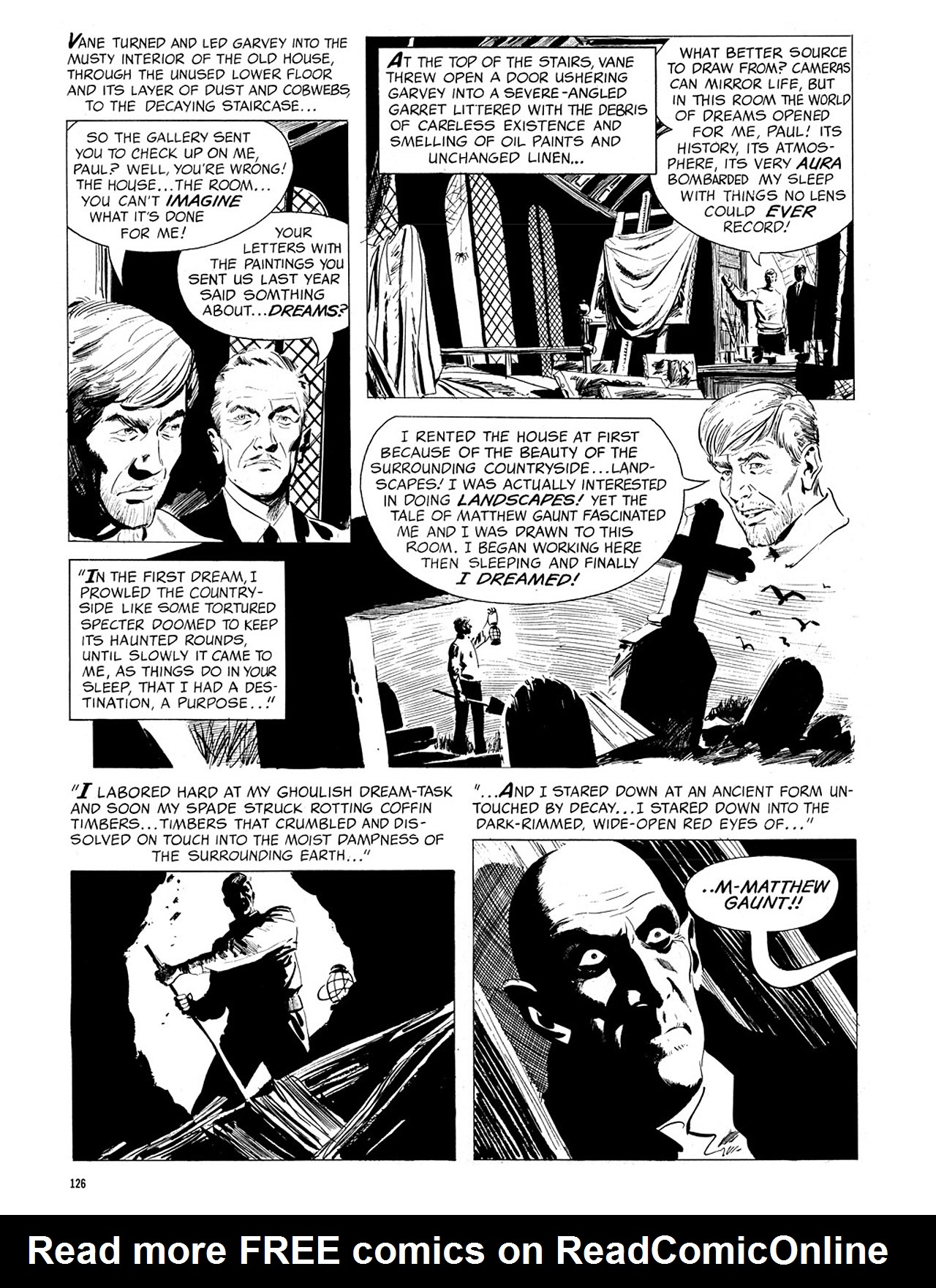 Read online Eerie Archives comic -  Issue # TPB 4 - 127