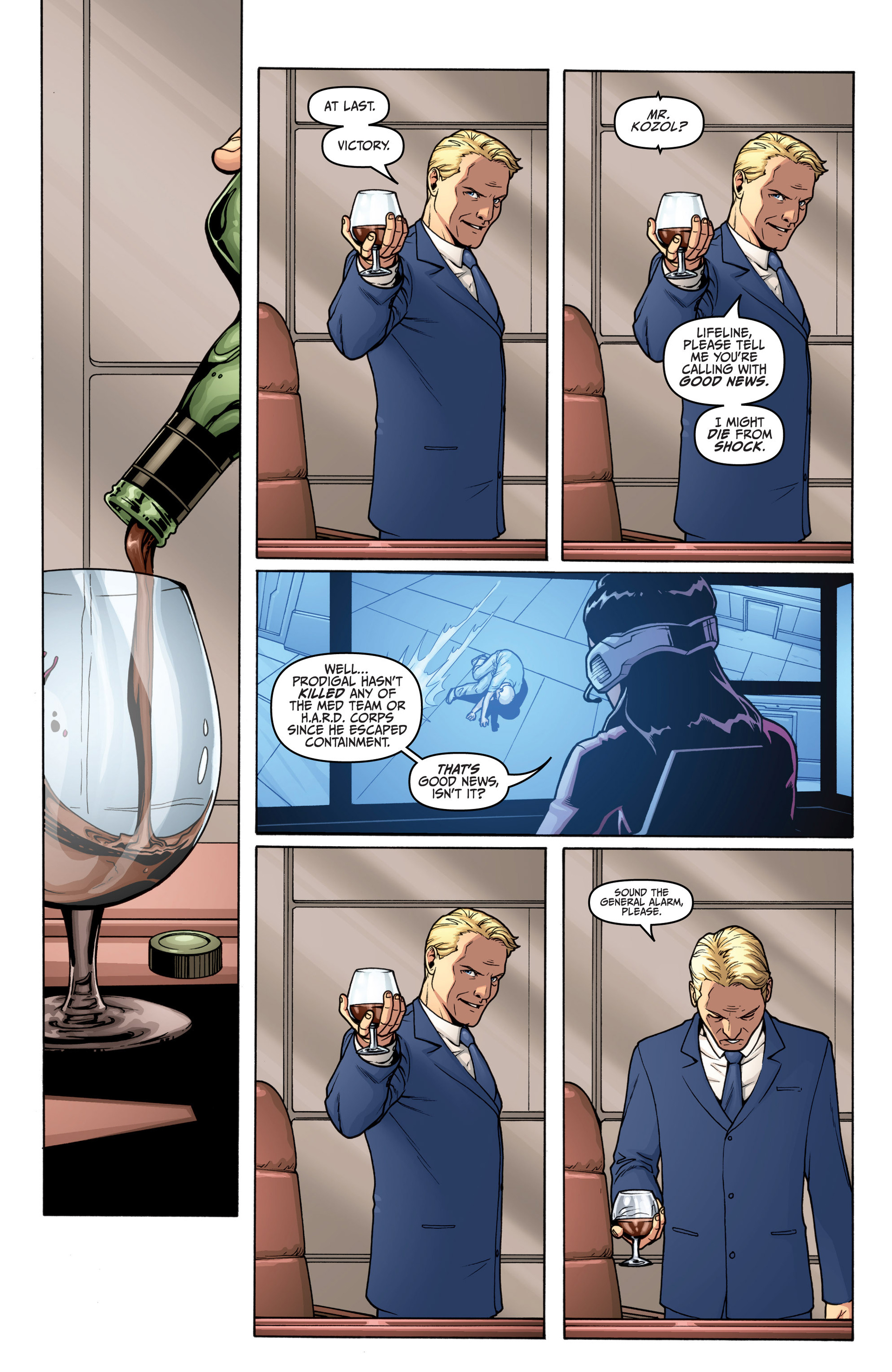 Read online Archer and Armstrong comic -  Issue #19 - 6