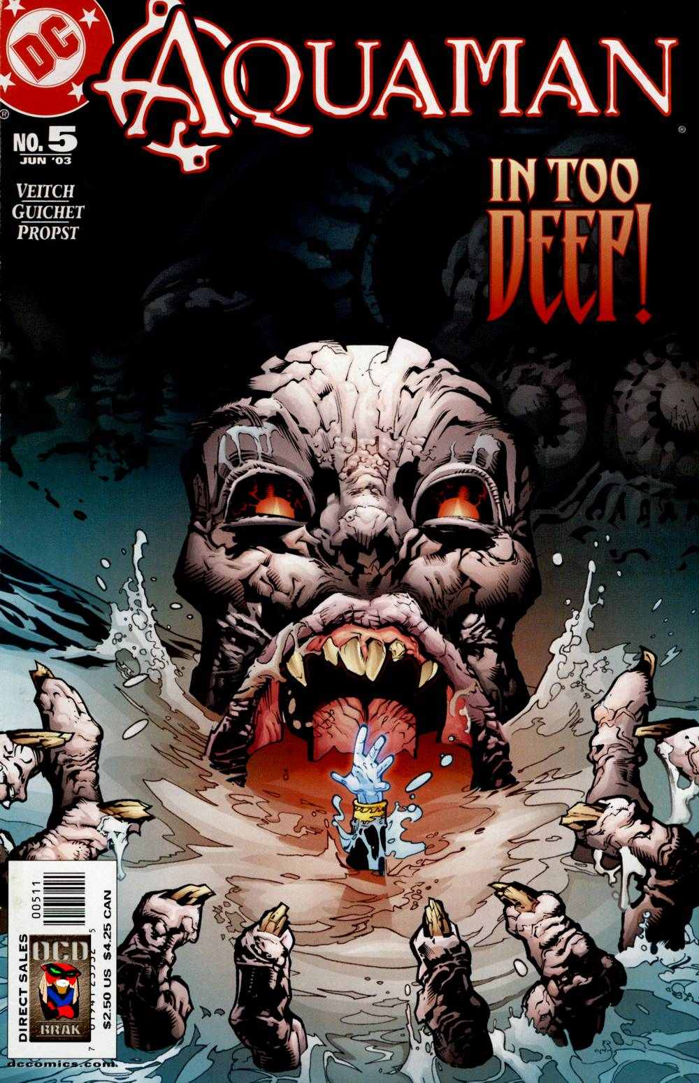Read online Aquaman (2003) comic -  Issue #5 - 1